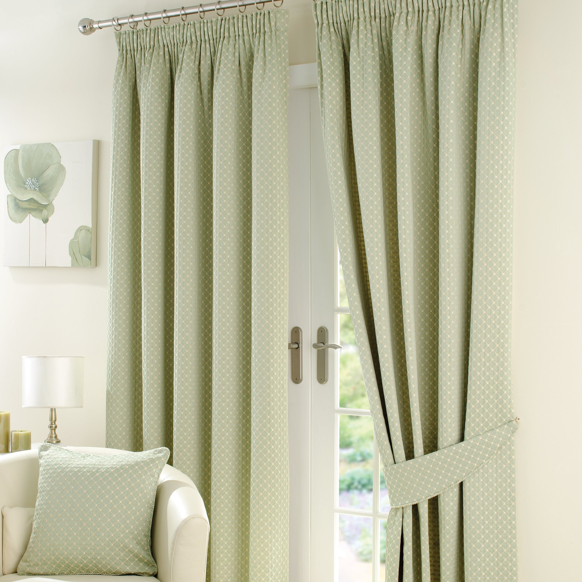 Sage Omega Curtain Collection