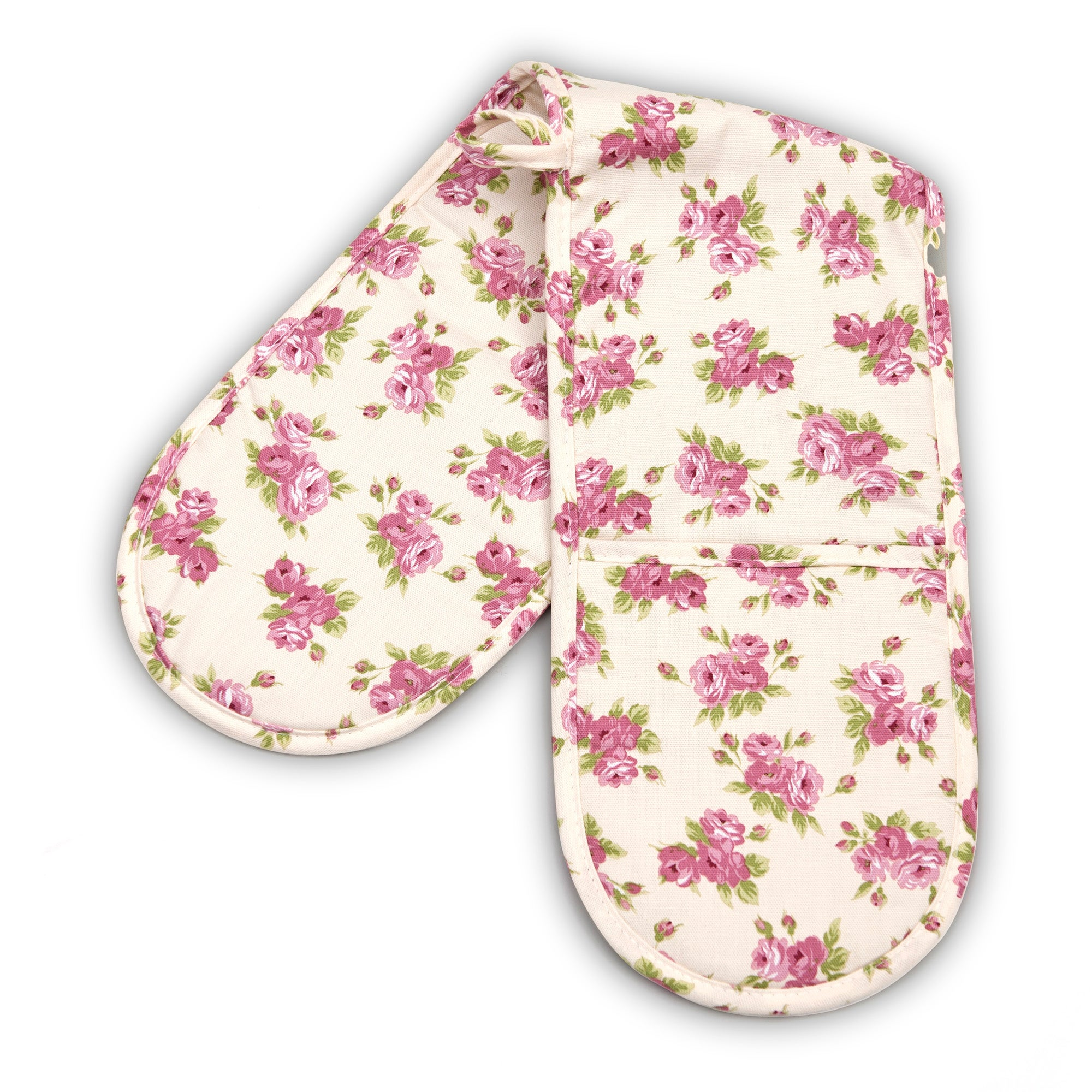 Rayware Pink Afternoon Tea Collection Double Oven Glove