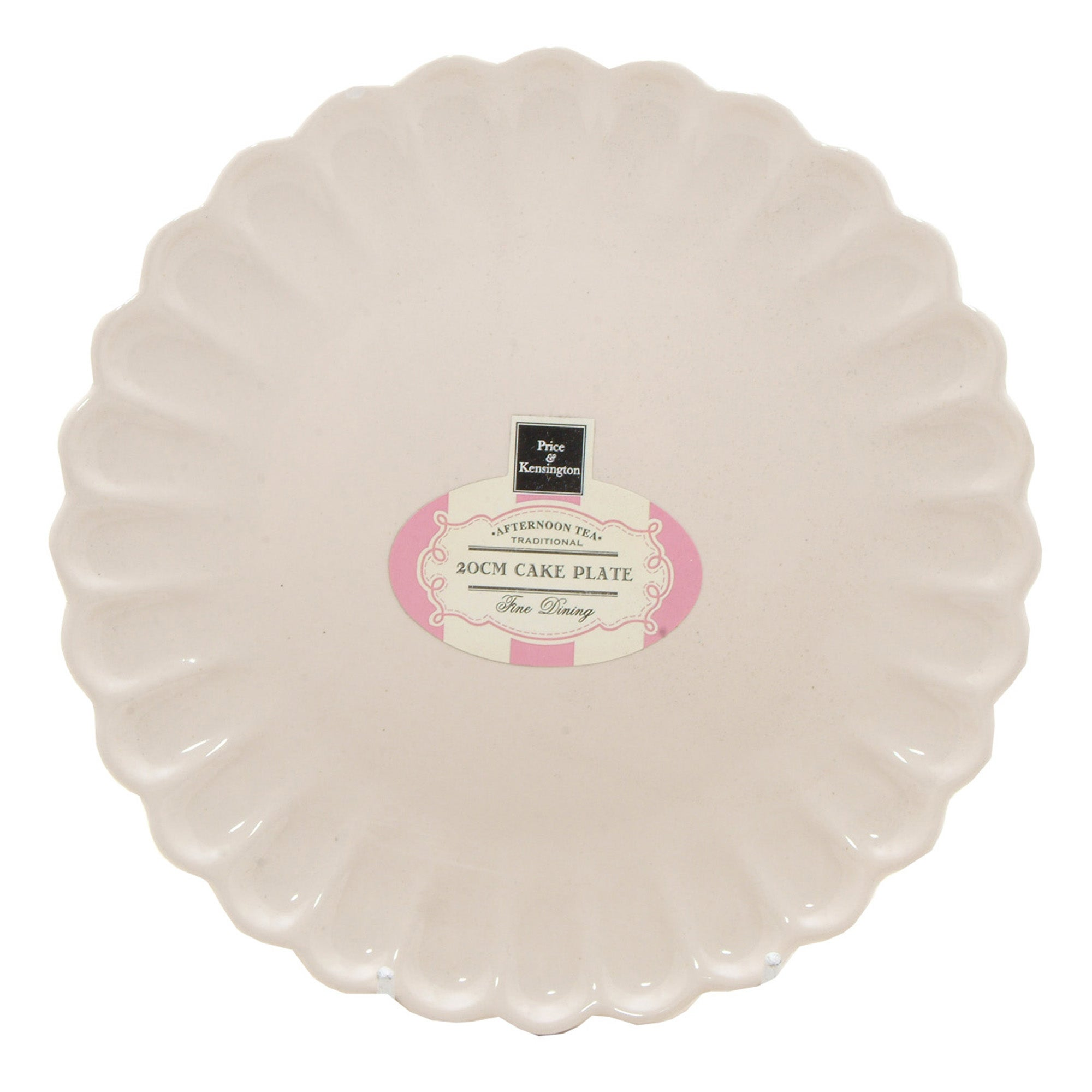 Rayware Cream Afternoon Tea Collection Serving Plate