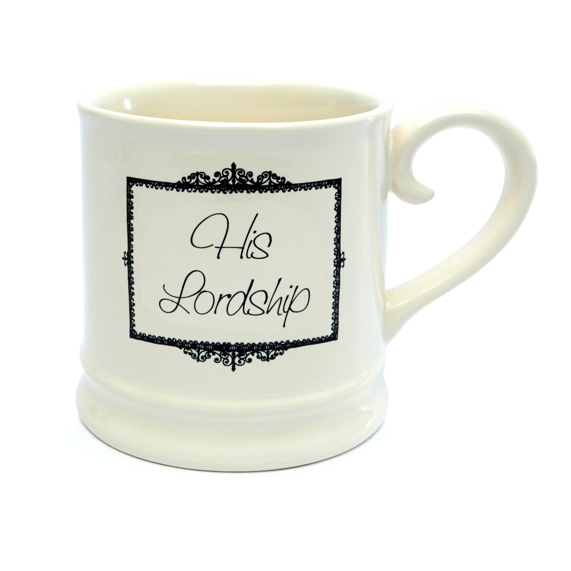 Cream His Lordship Mug