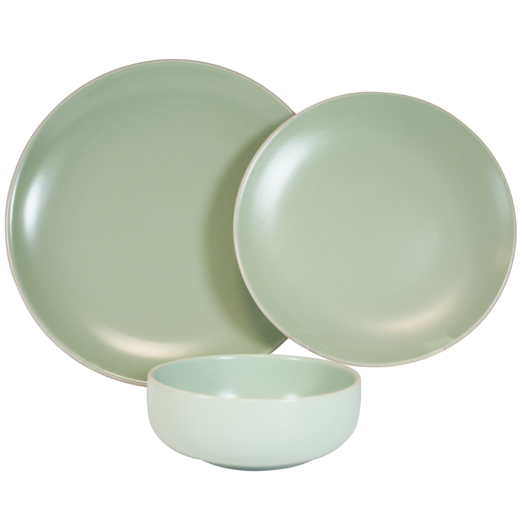 Olive Monaco Collection 12 Piece Dinner Set