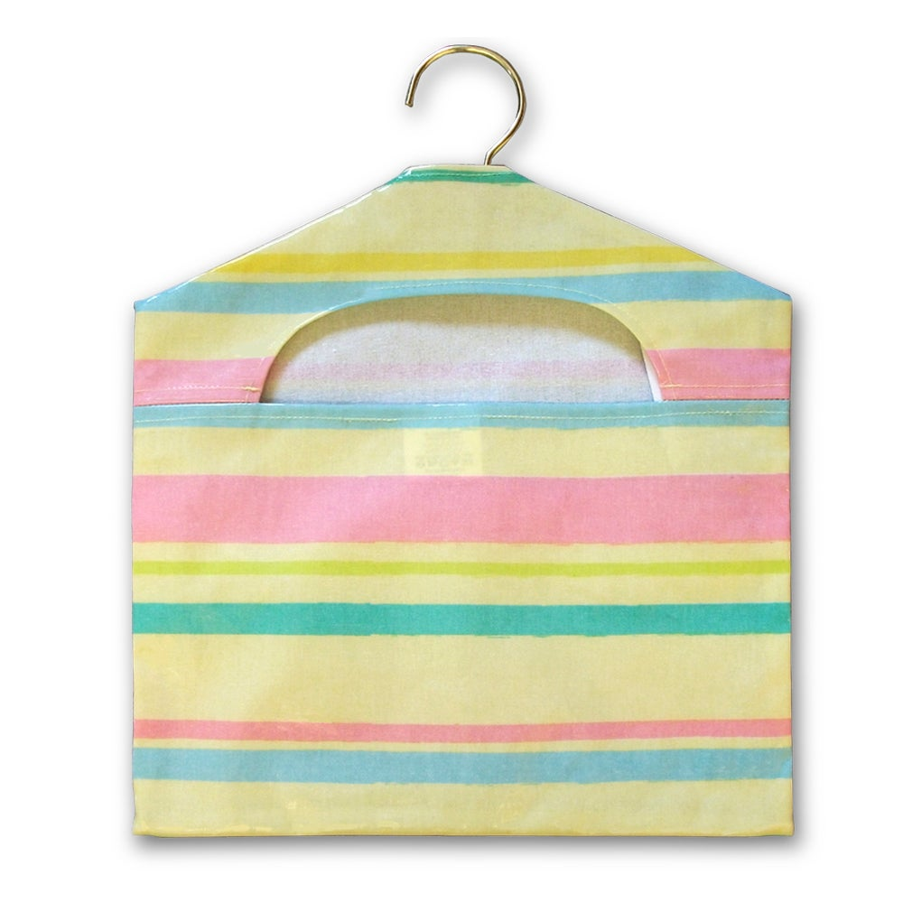 Pastel Stripe Peg Bag
