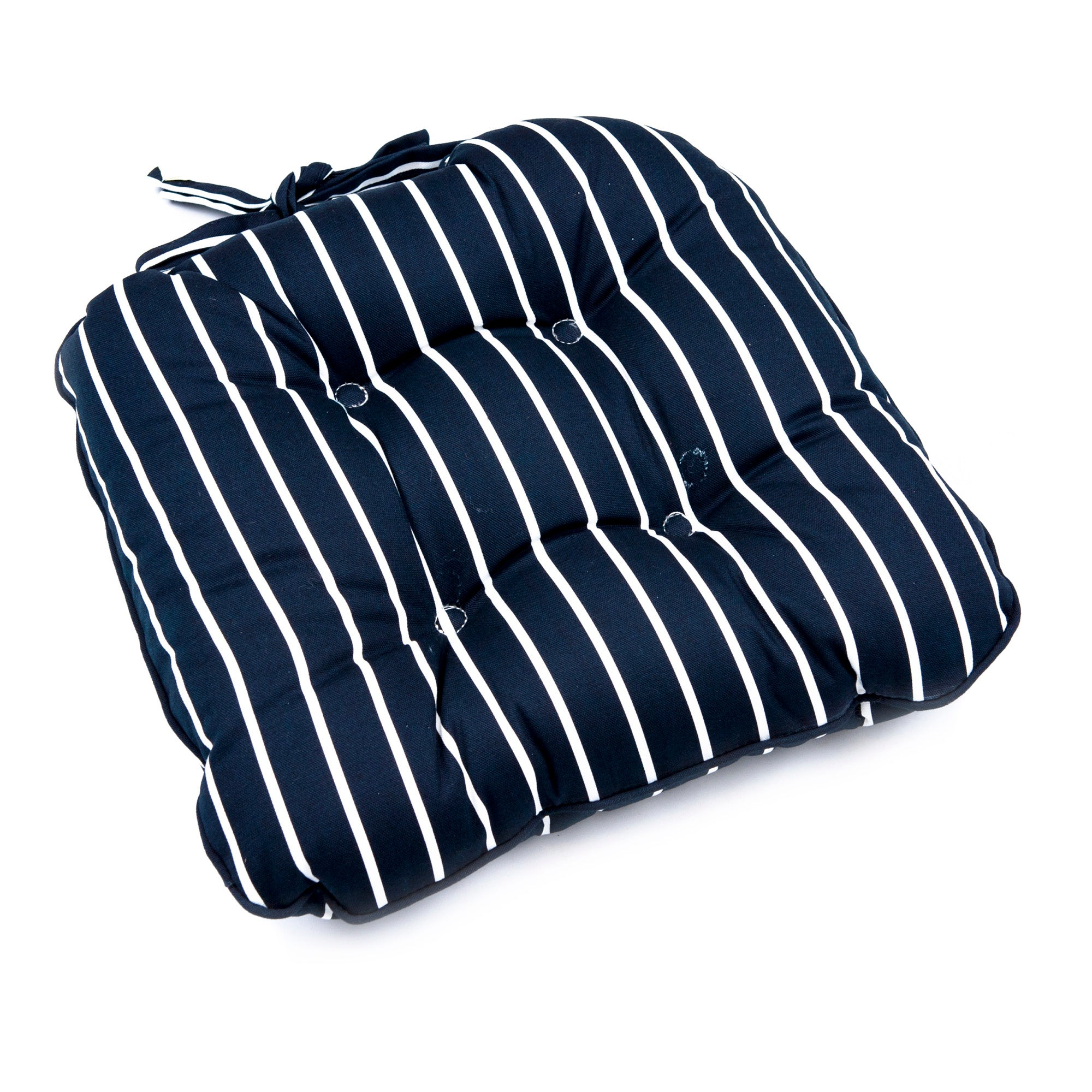 Stripes Collection Filled Seat Pad
