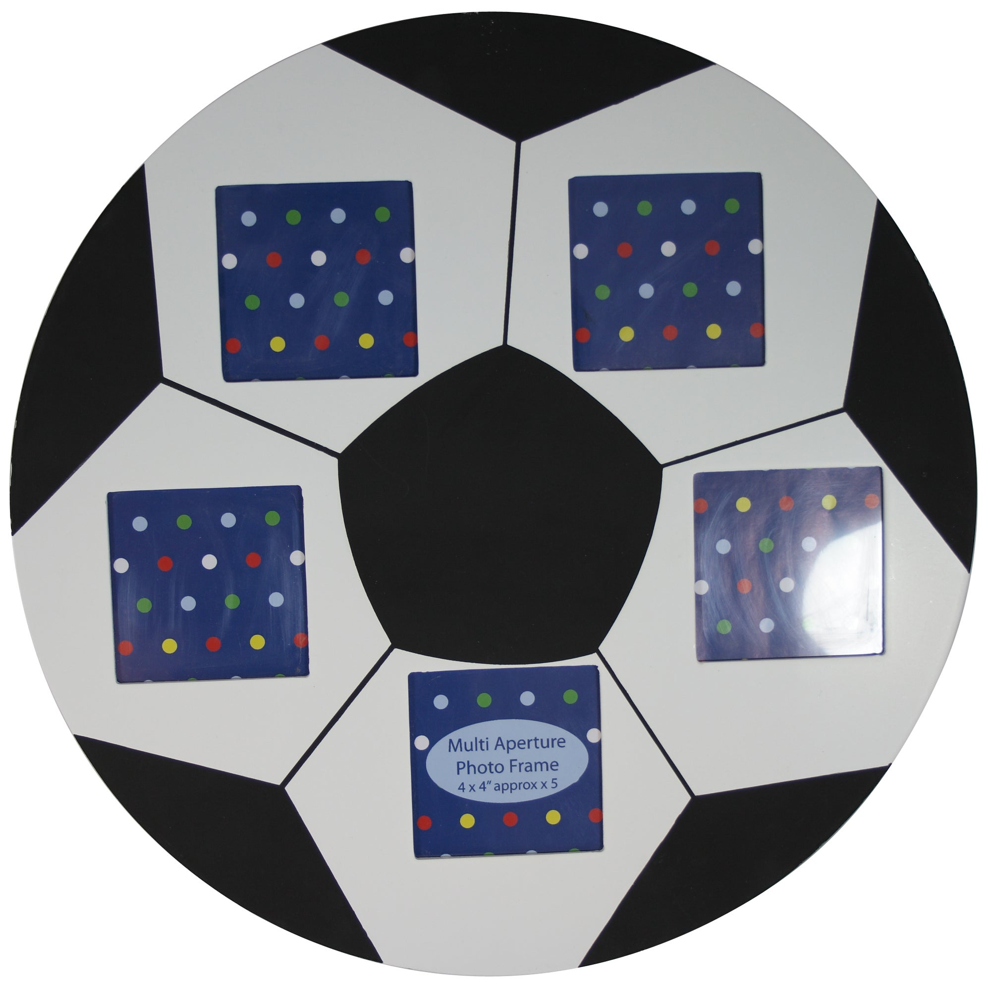 Kids Football Multi Aperture Photo Frame