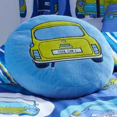 Kids Cool Cars Collection 3D Cushion
