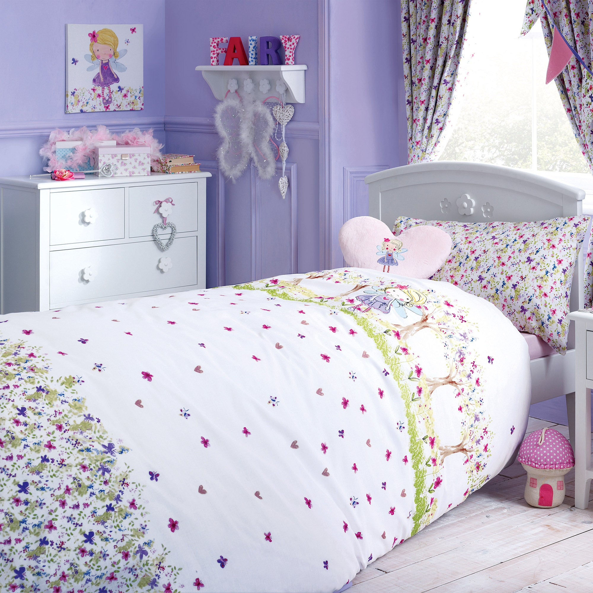 Kids Lillybelle Colection Duvet Cover Set