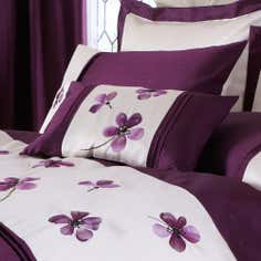 Plum Louisa Collection Cushion