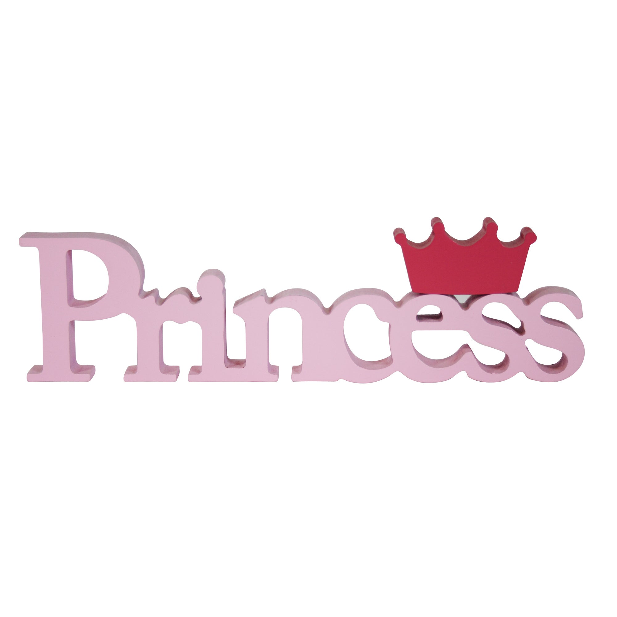 Kids Princess Word Ornament