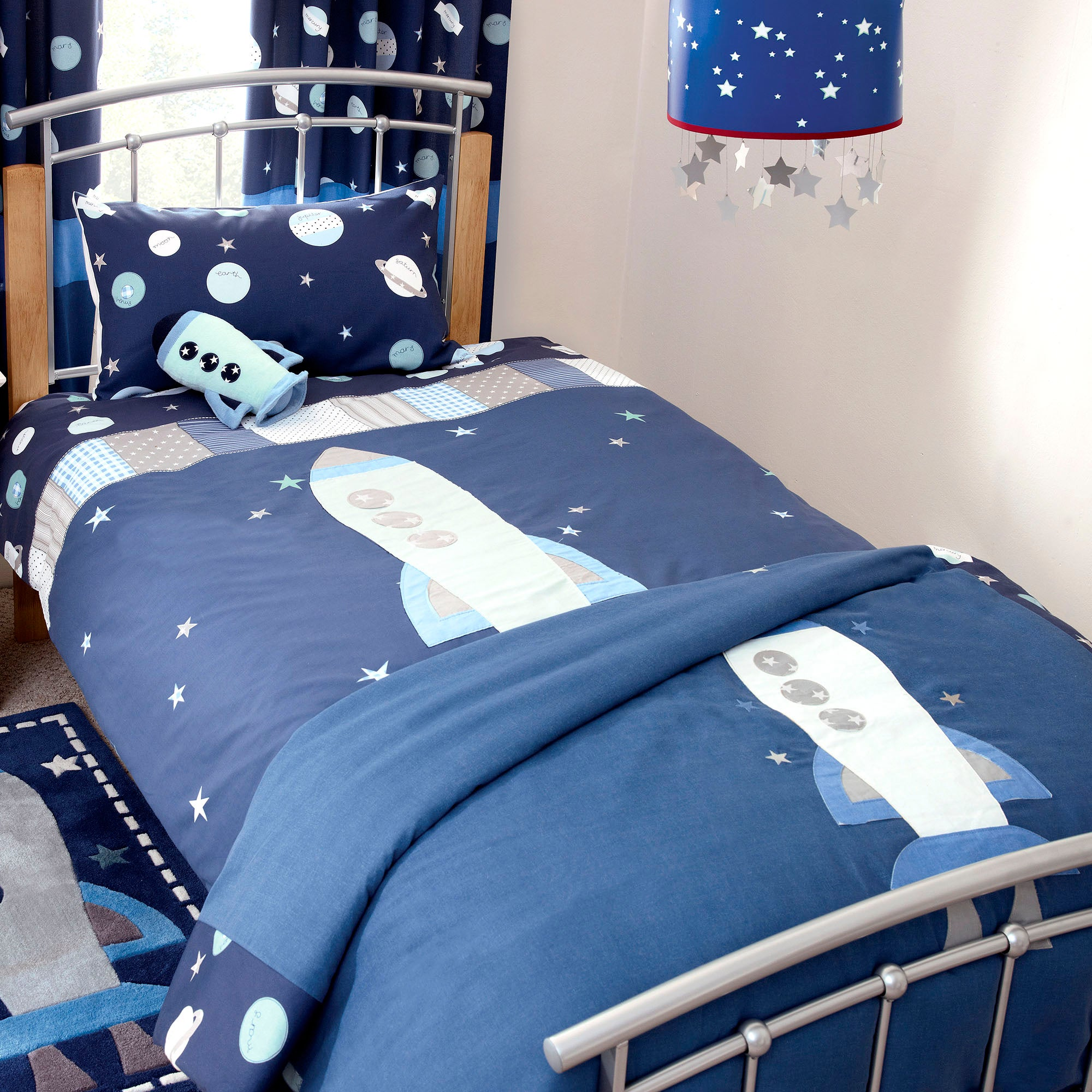 Kids Space Mission Collection Duvet Cover Set