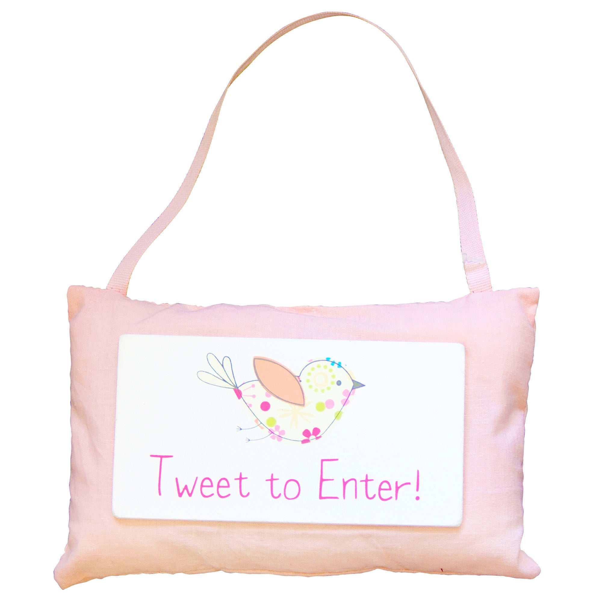 Kids Tweet Tweet Collection Hanging Plaque