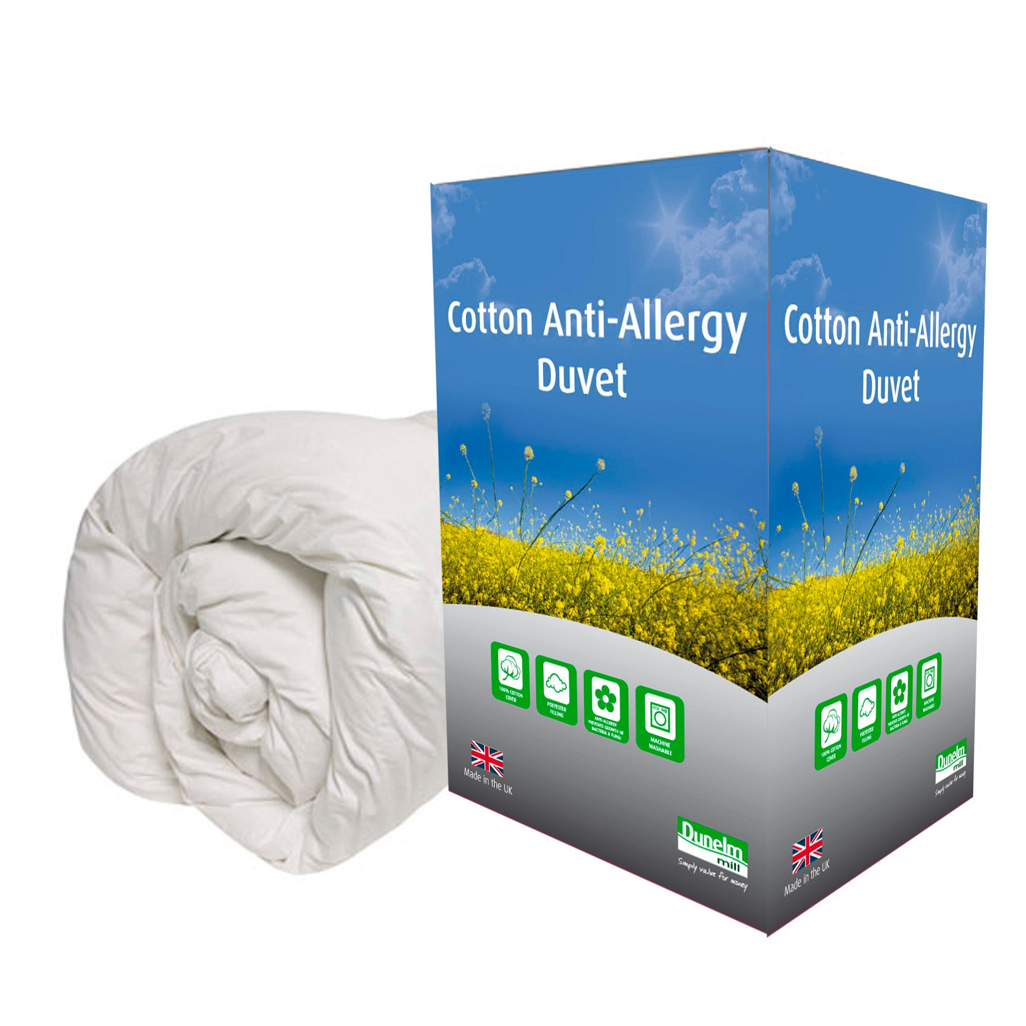 Anti Allergy 13.5 Tog Duvet
