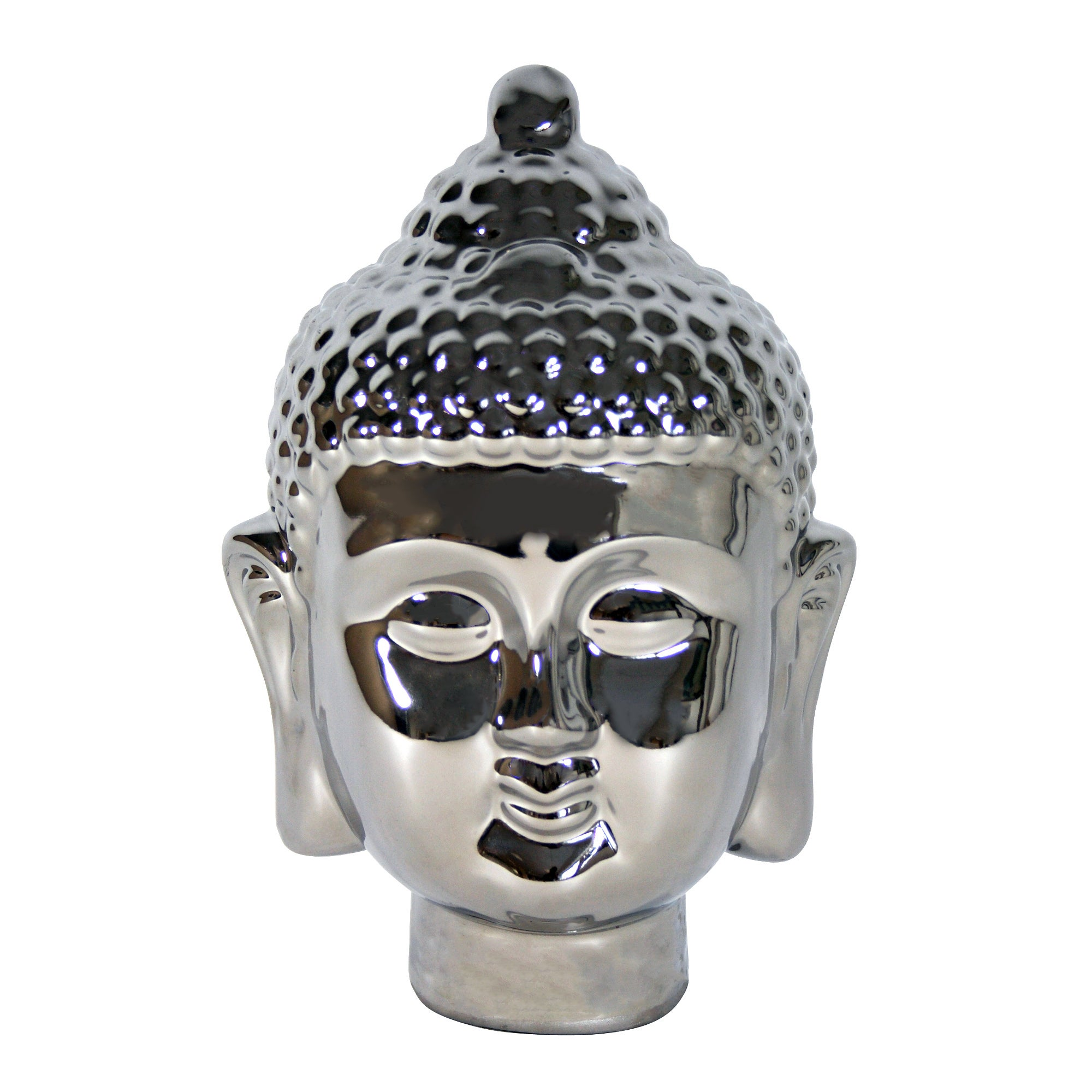 Black Ice Collection Buddha Head