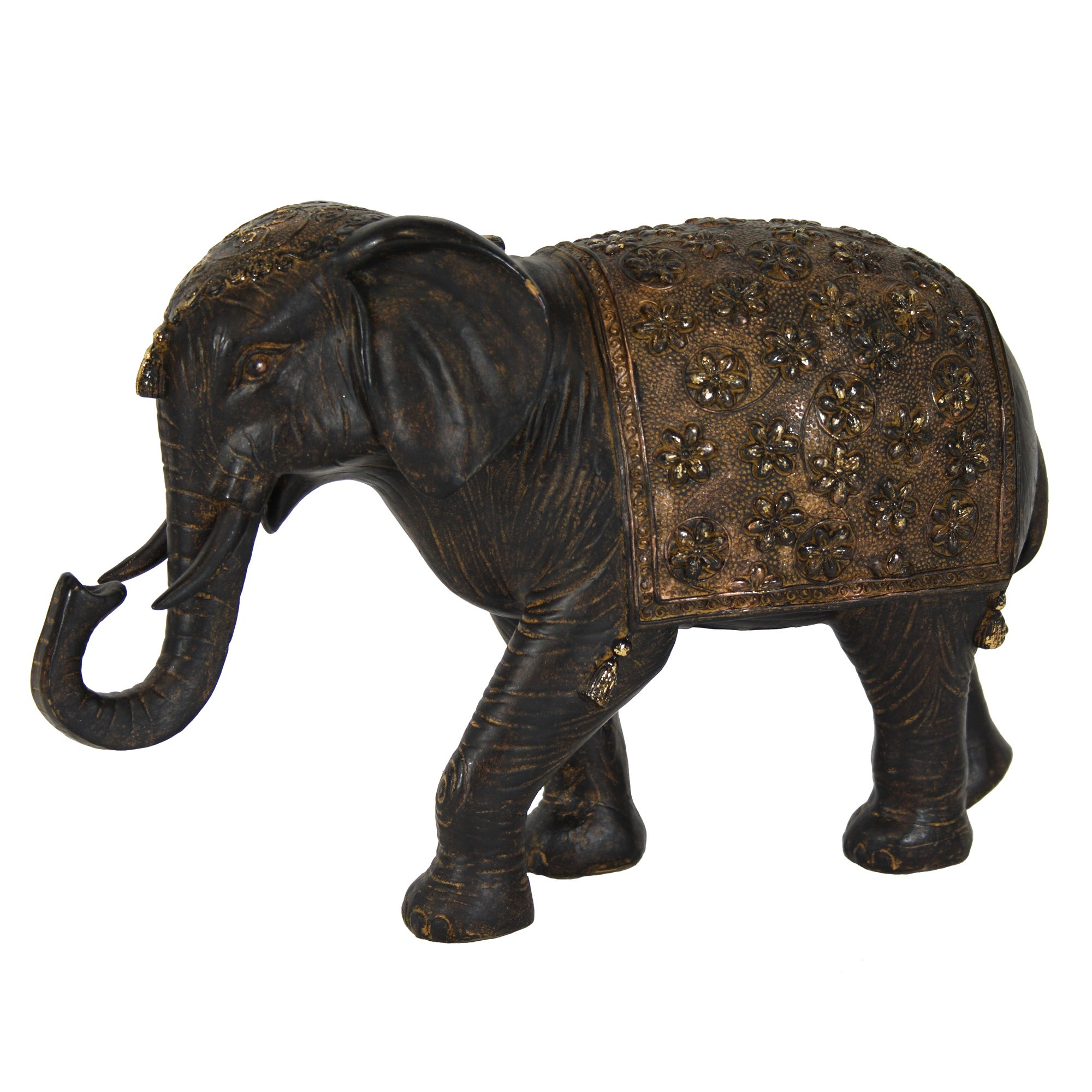 Burnt Sienna Collection Elephant Ornament
