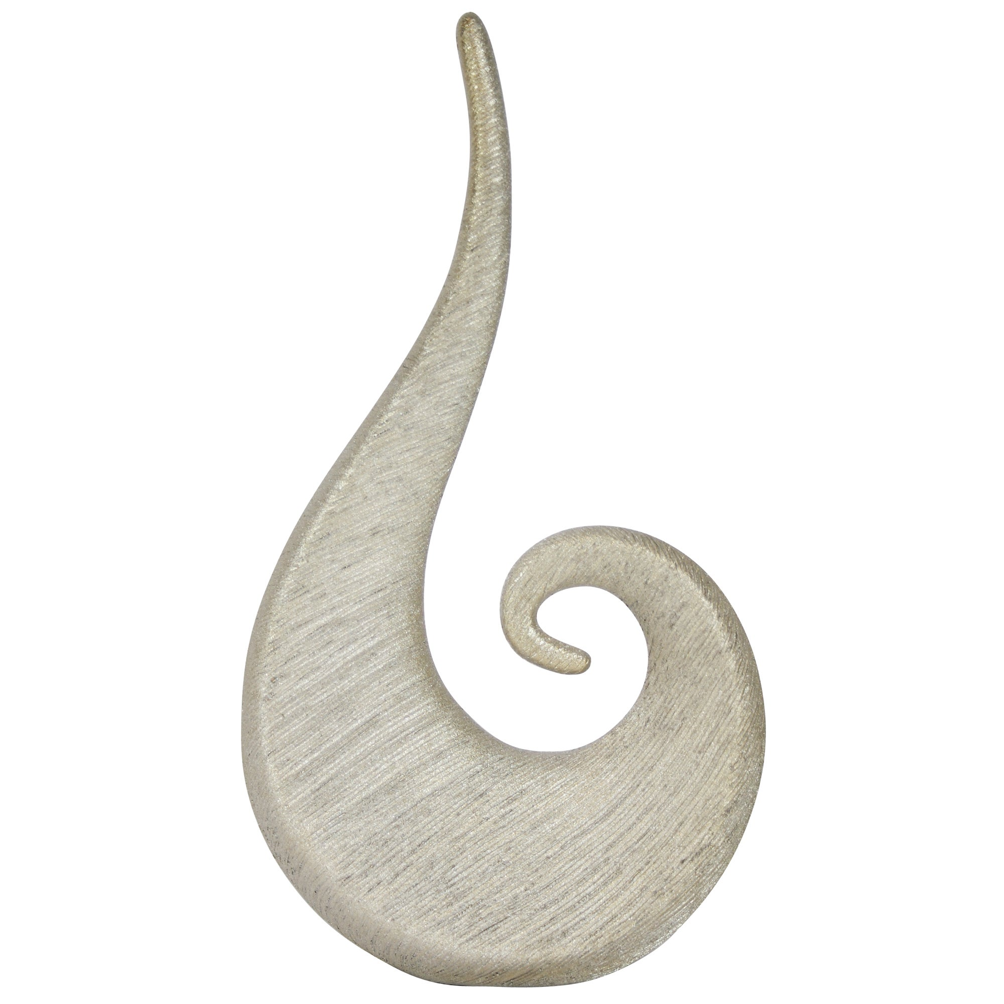 Classique Collection Ceramic Swirl Sculpture