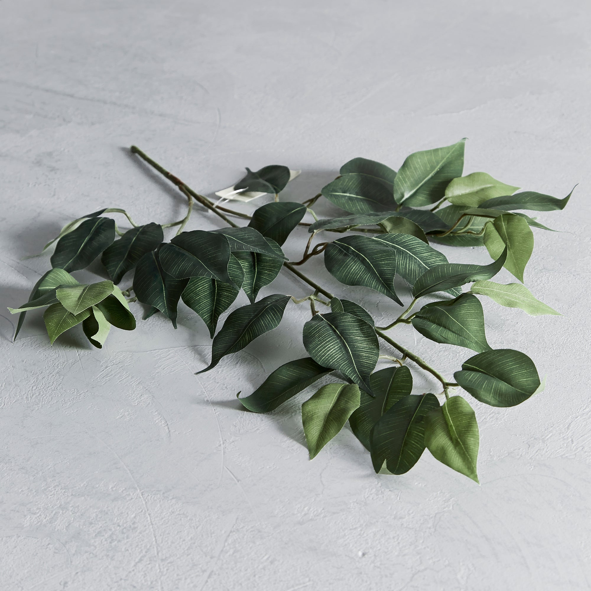 Artificial Green Ficus Spray
