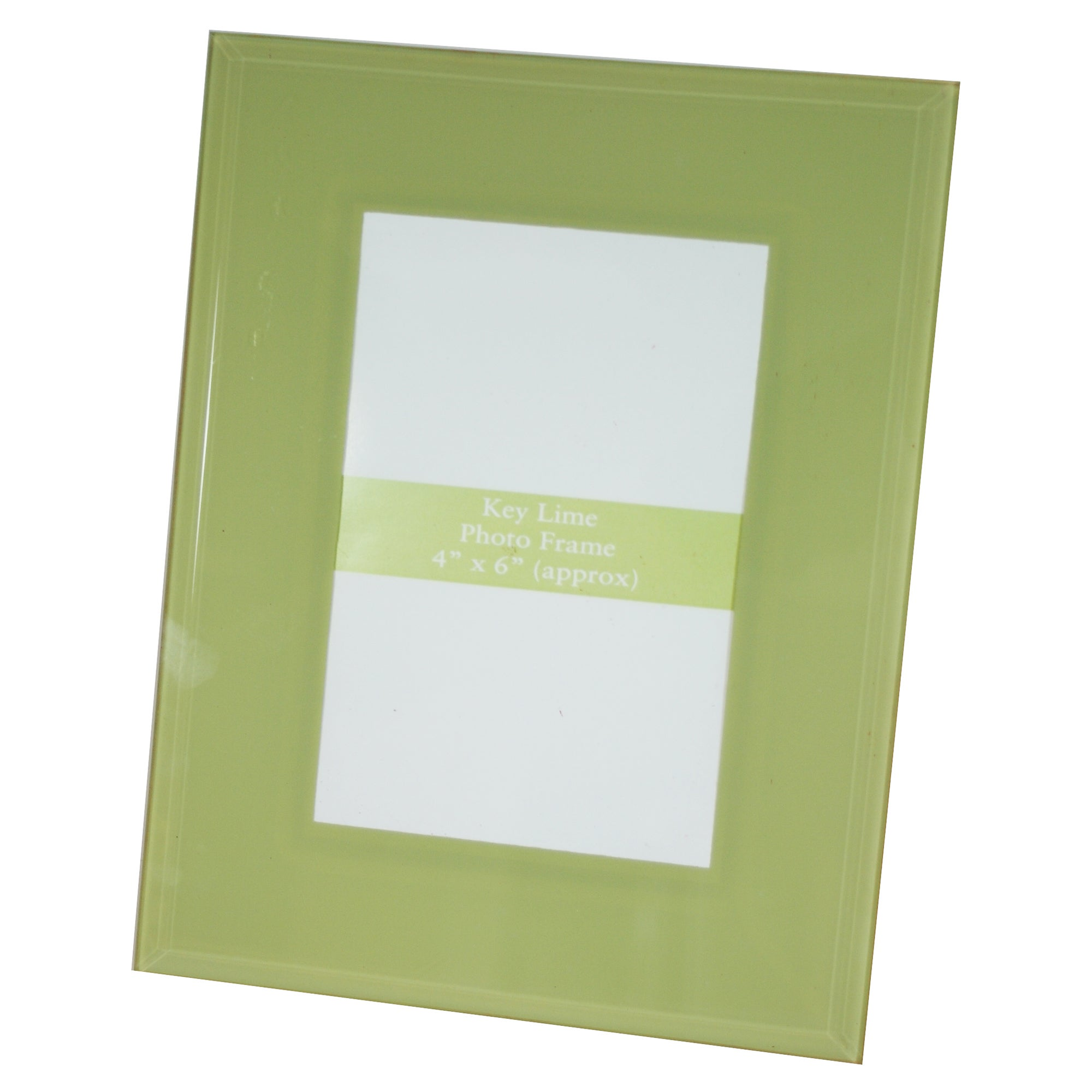 Key Lime Collection Glass Photo Frame