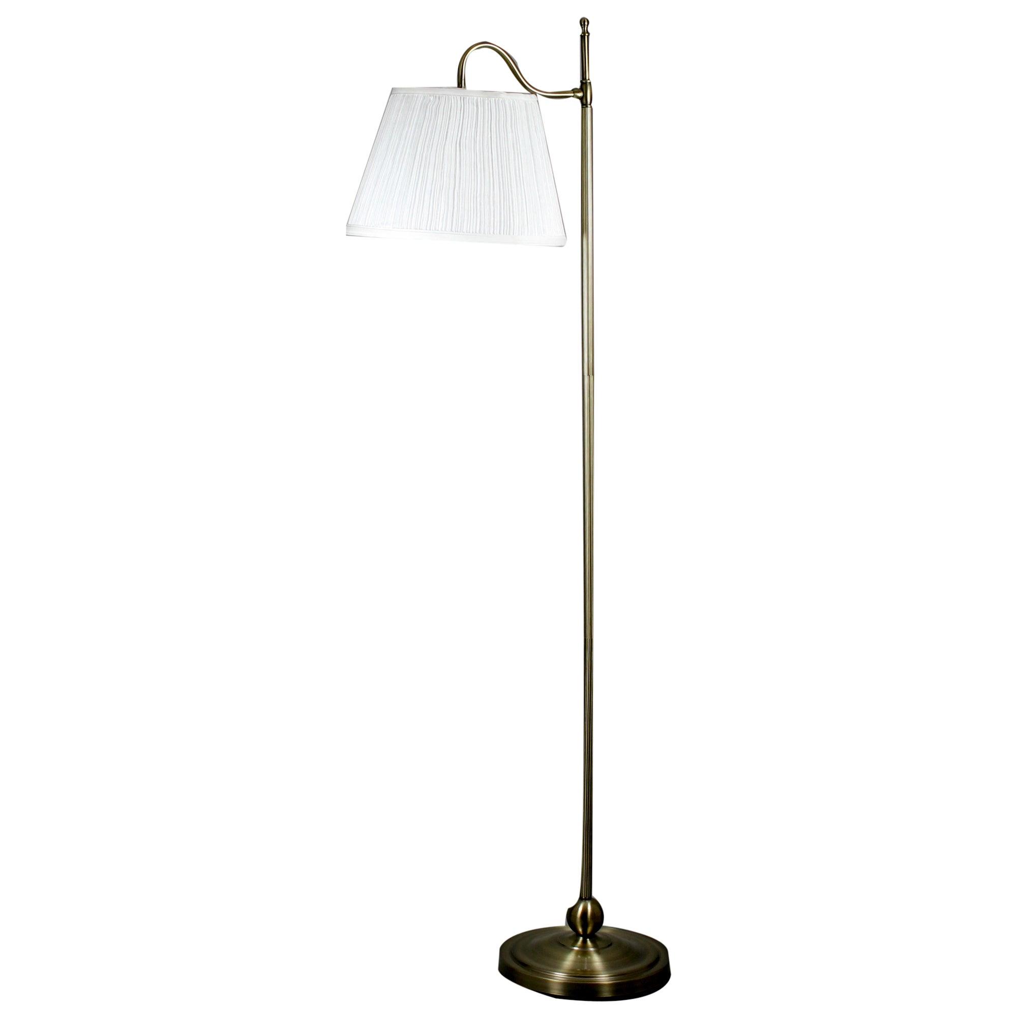 middleton curved floor lamp dunelm. Black Bedroom Furniture Sets. Home Design Ideas