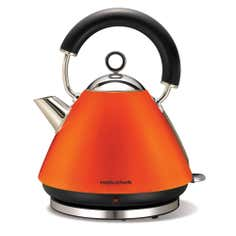 Morphy Richards Accents Orange Pyramid Kettle