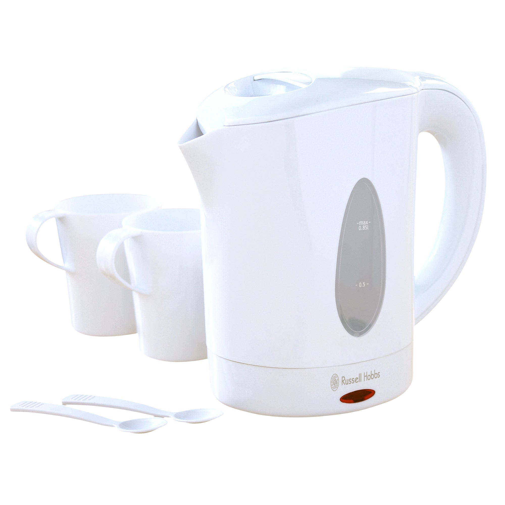 Russell Hobbs 14178 White Classic Travel Kettle