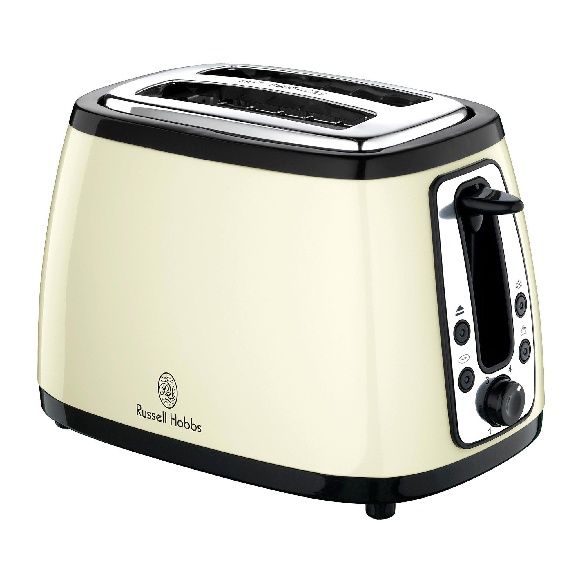 Russell Hobbs Heritage 18259 Cream 2 Slice Toaster