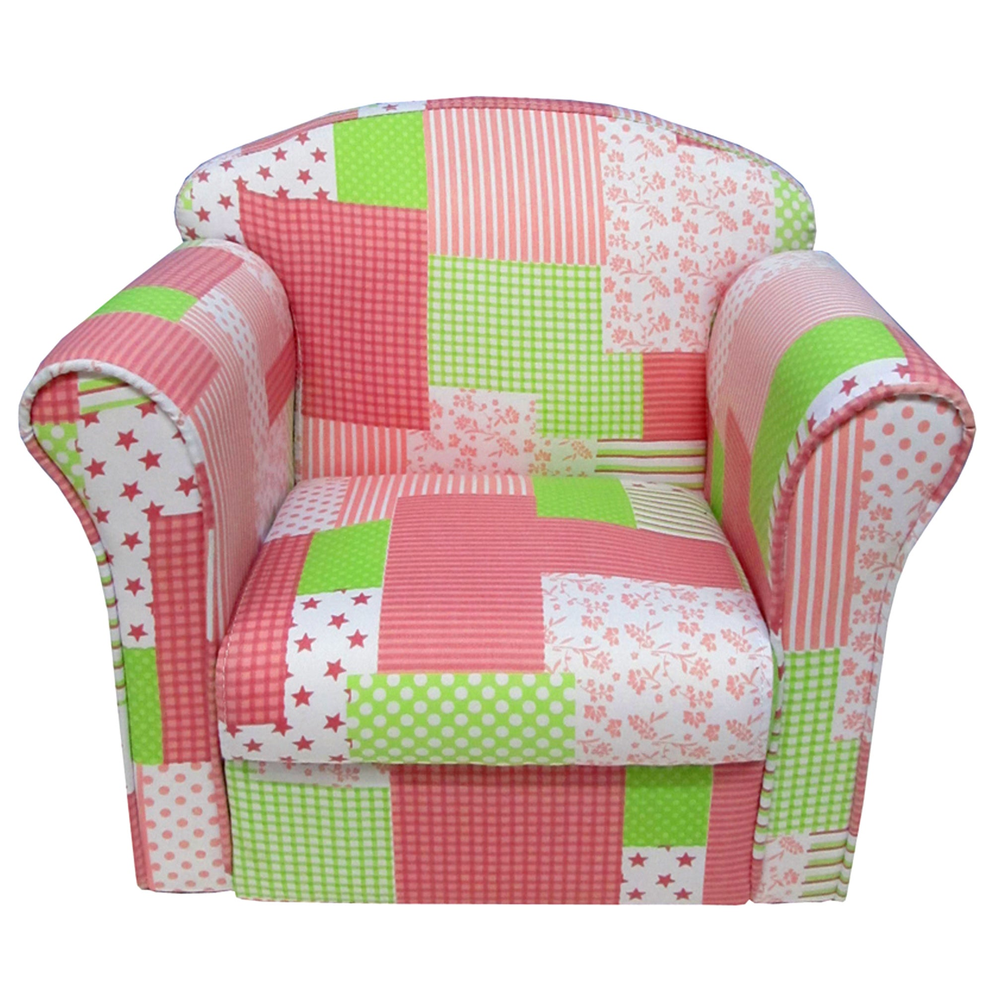 Kids Patchwork Armchair
