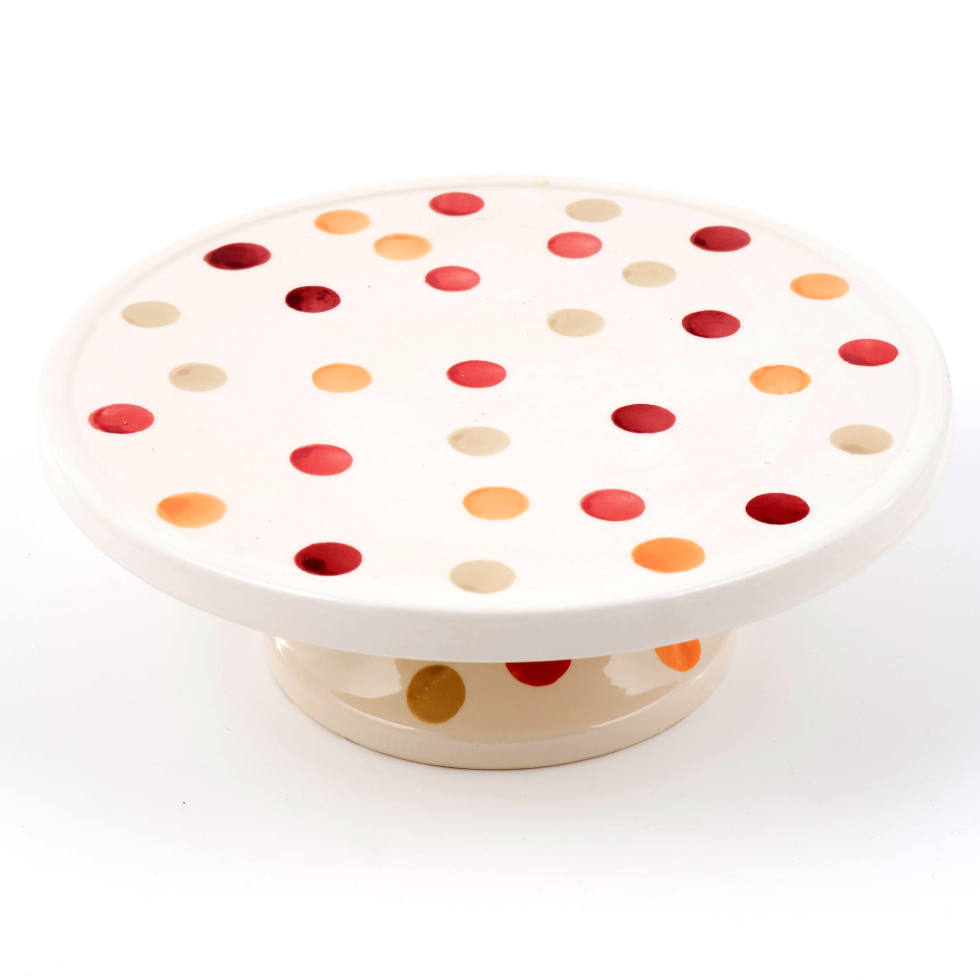 Red Country Spots Collection Cake Stand