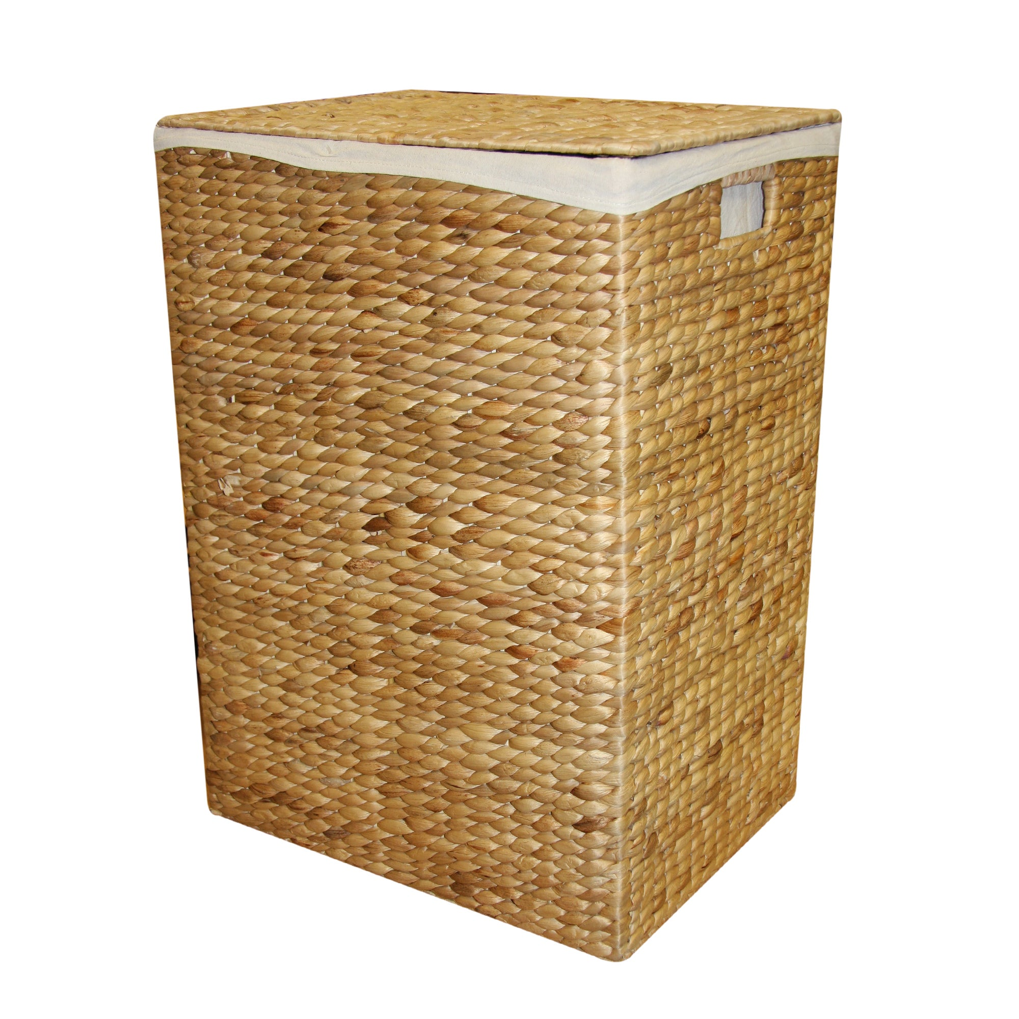 Hyacinth rectangle laundry hamper dunelm - Way laundry hamper ...