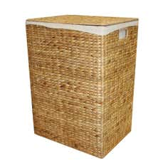 Hyacinth Rectangle Laundry Hamper
