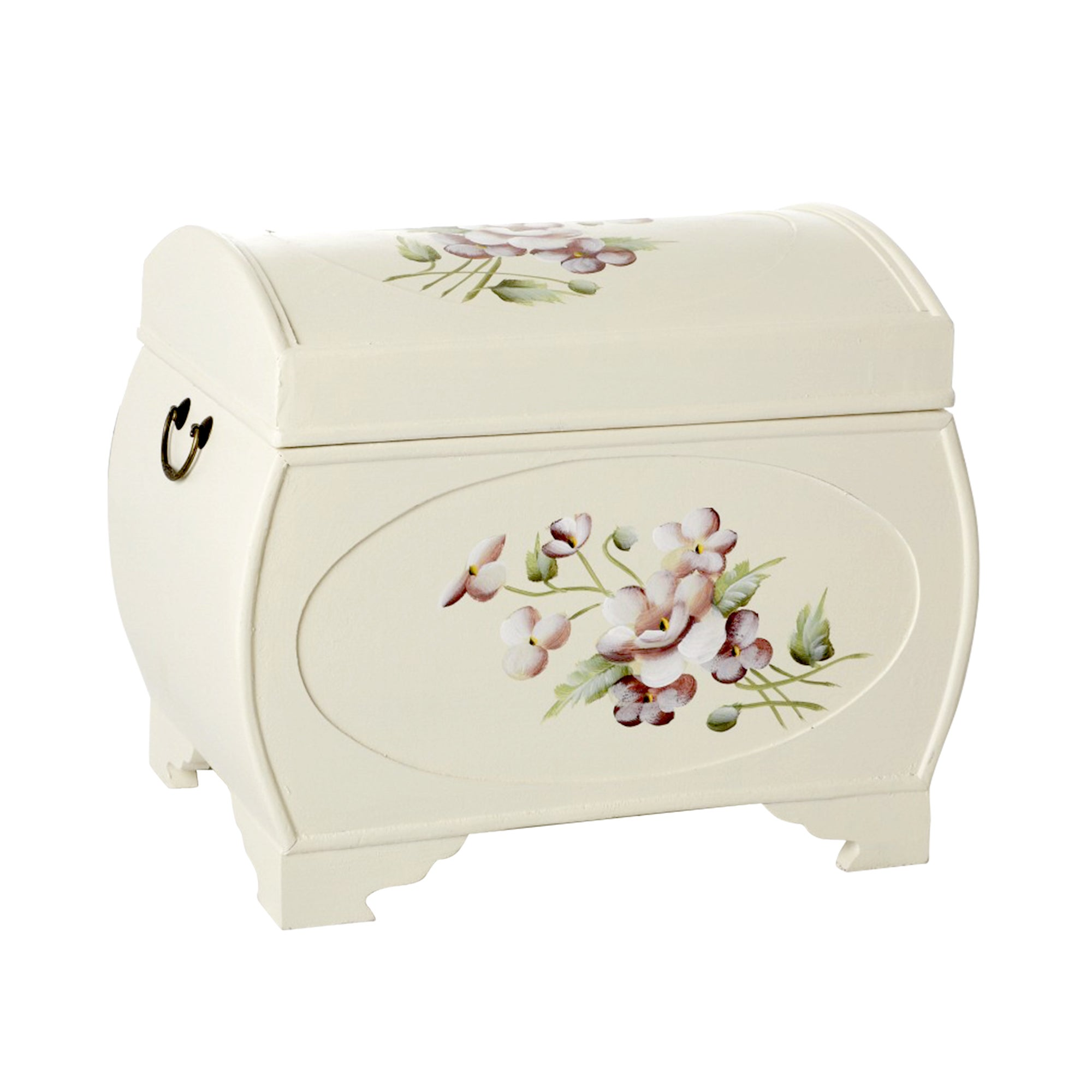 Garden Rose Hand Painted Chest