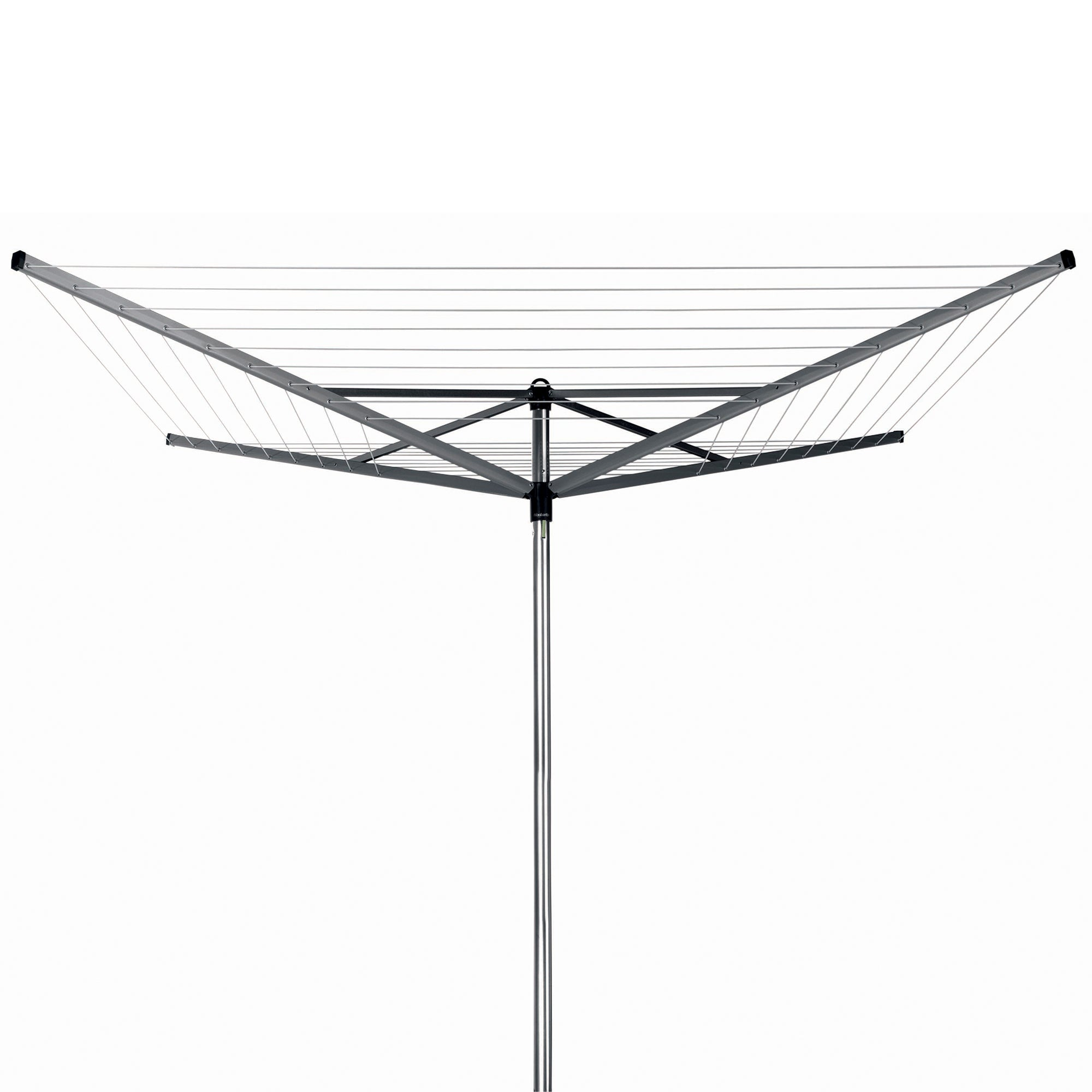Brabantia 40m Compact Rotary Airer with Free Peg Bag