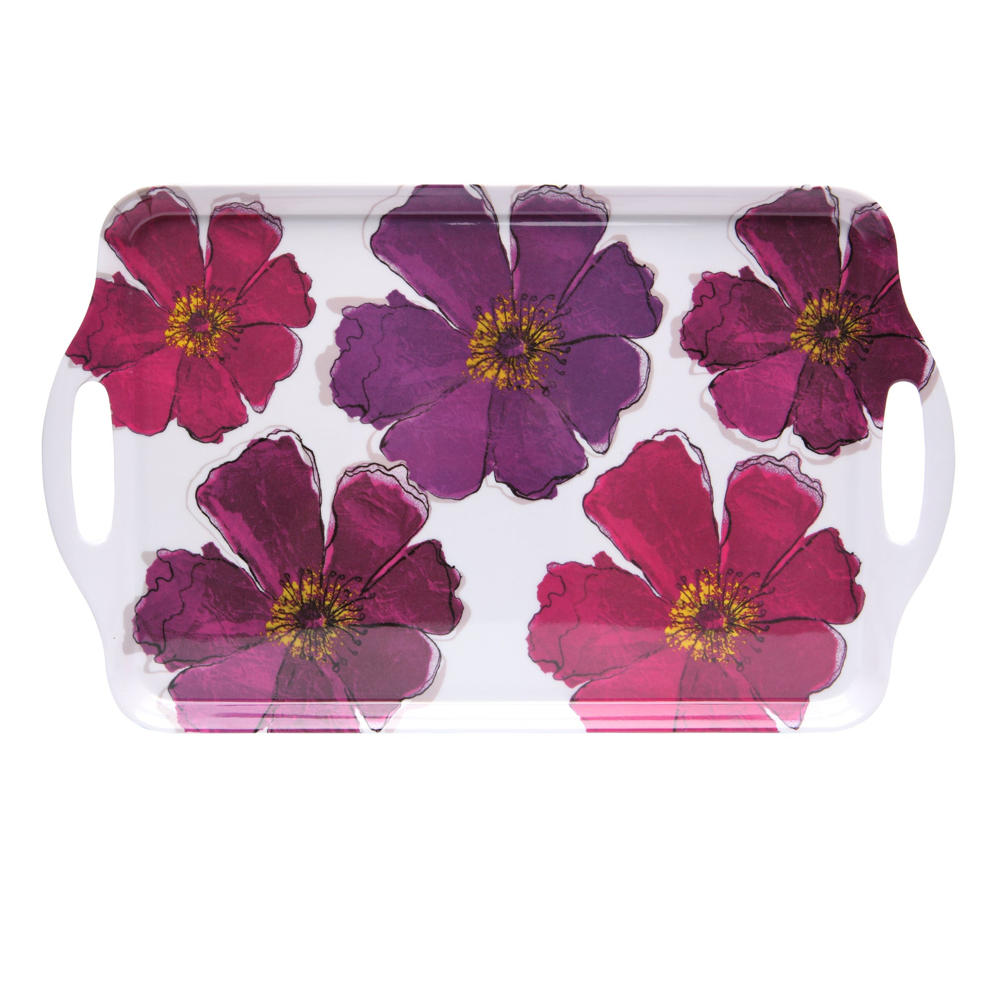 Mulberry Flower Collection Tea Tray