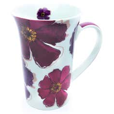 Mulberry Flower Collection Tall Flair Mug
