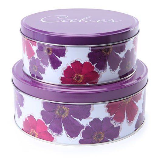 Mulberry Flower Pack of 2 Cake Tin