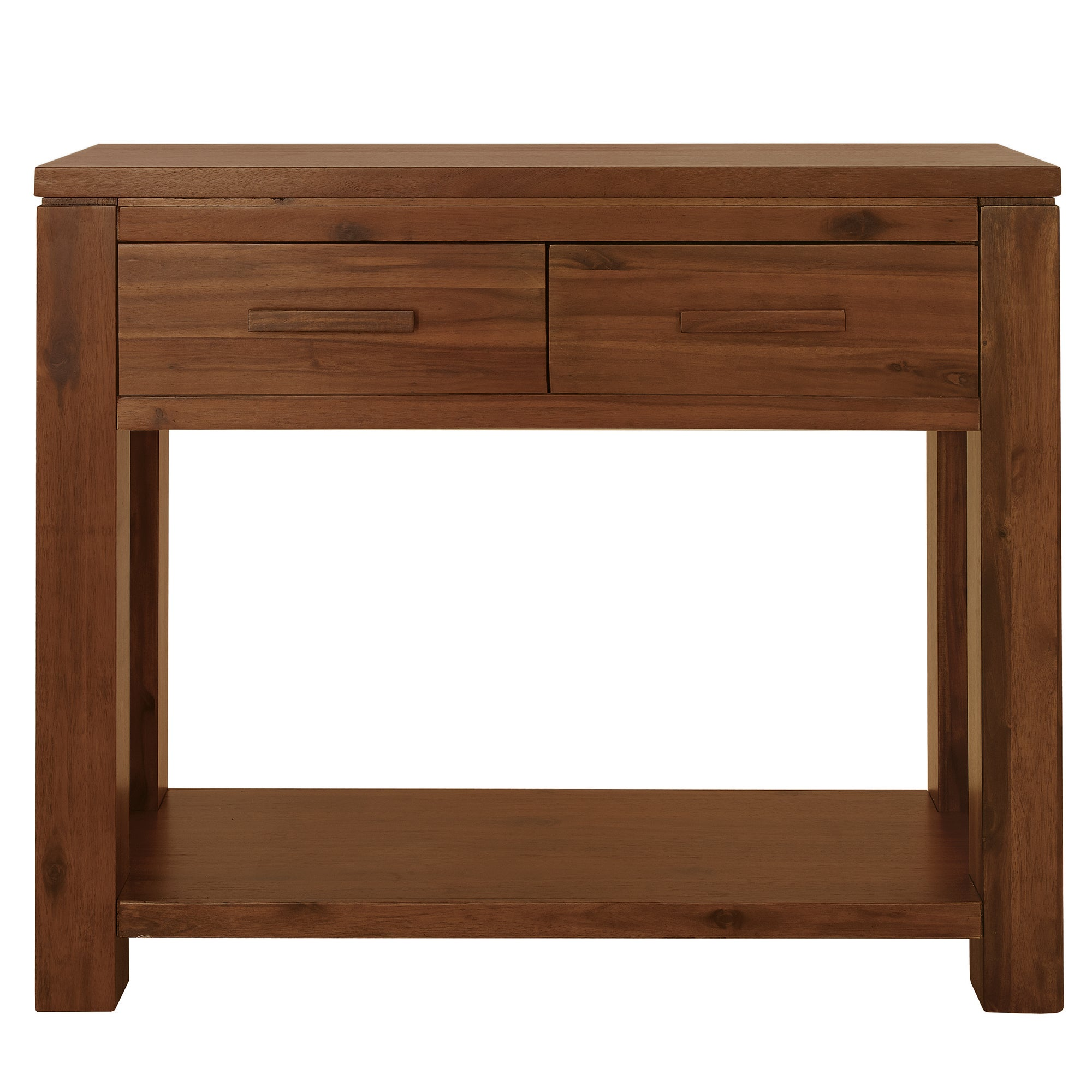 Seville Acacia Dark Wood Console Table