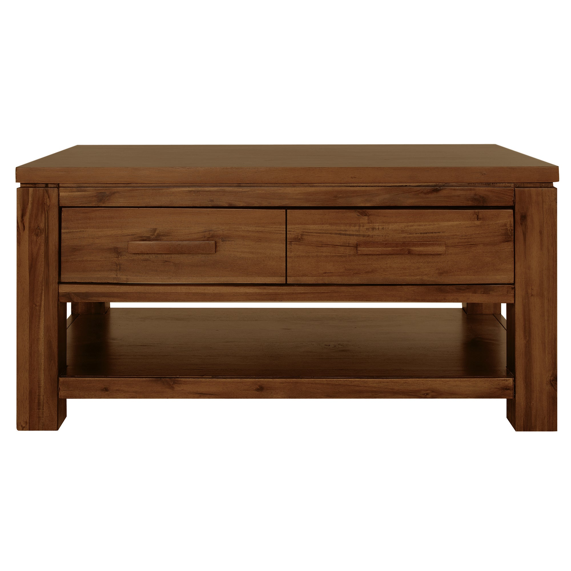 Seville Acacia Dark Wood Coffee Table