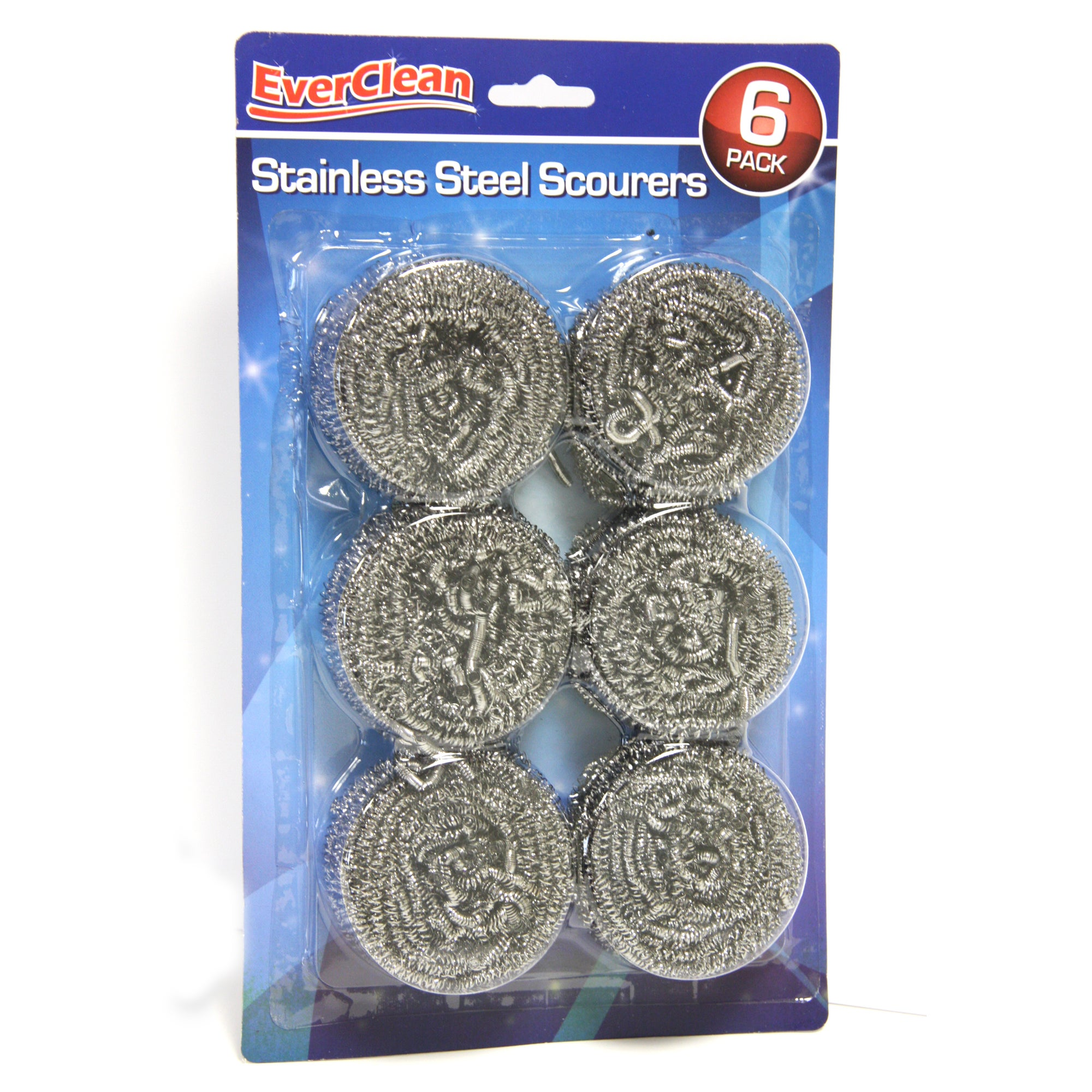 Steel Scourers 6 Pack