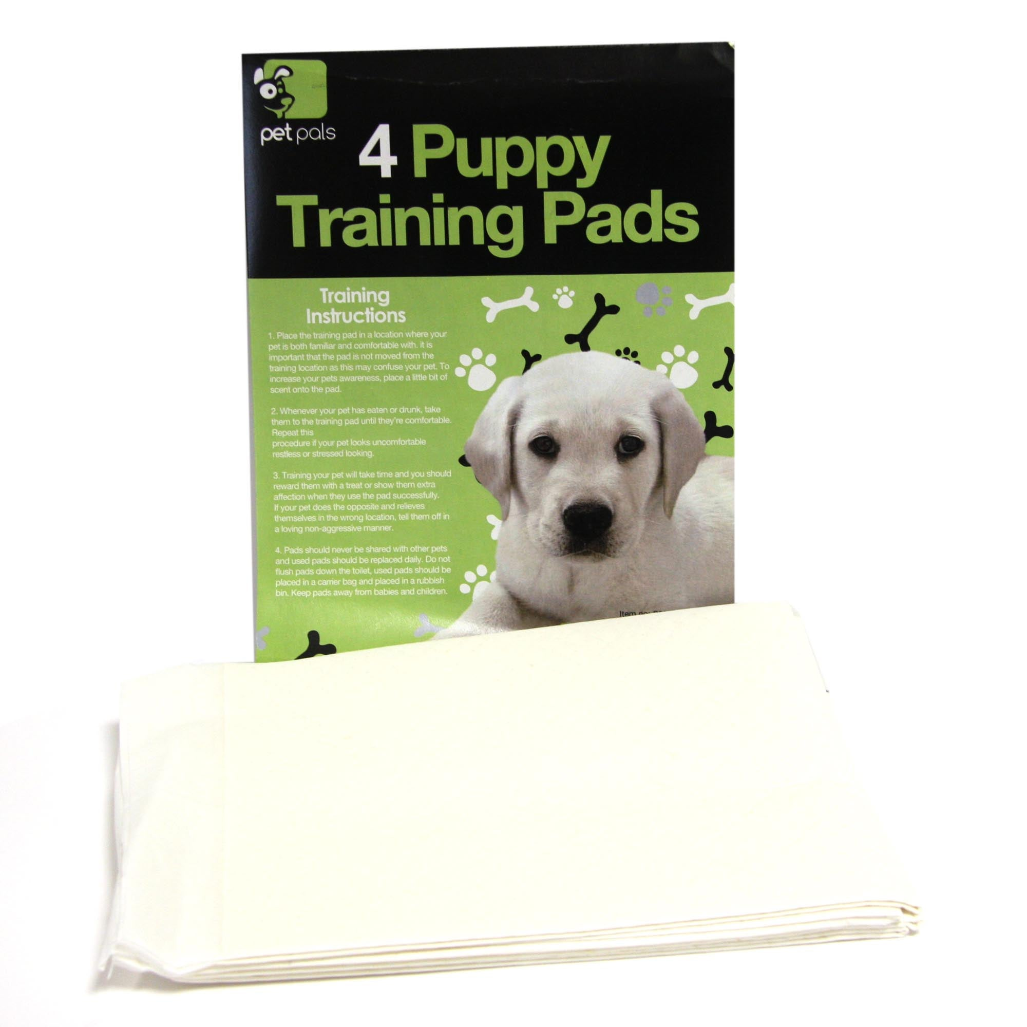 Pack Of 4 Puppy Pads