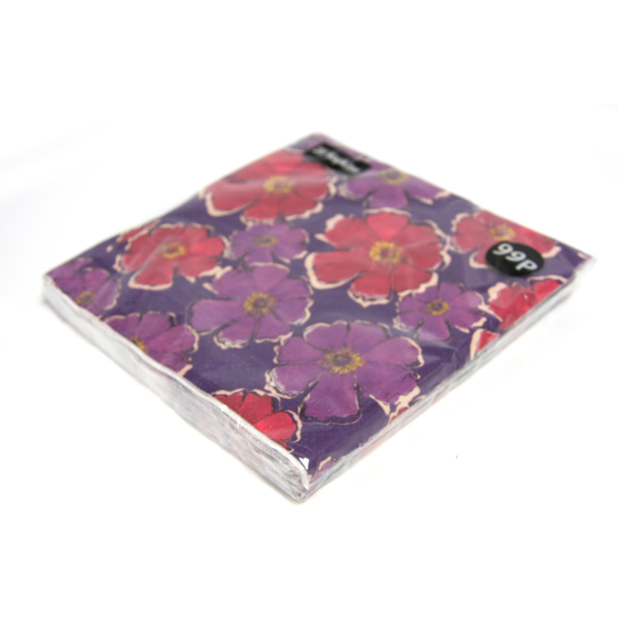 Mulberry Flower Collection Paper Napkins