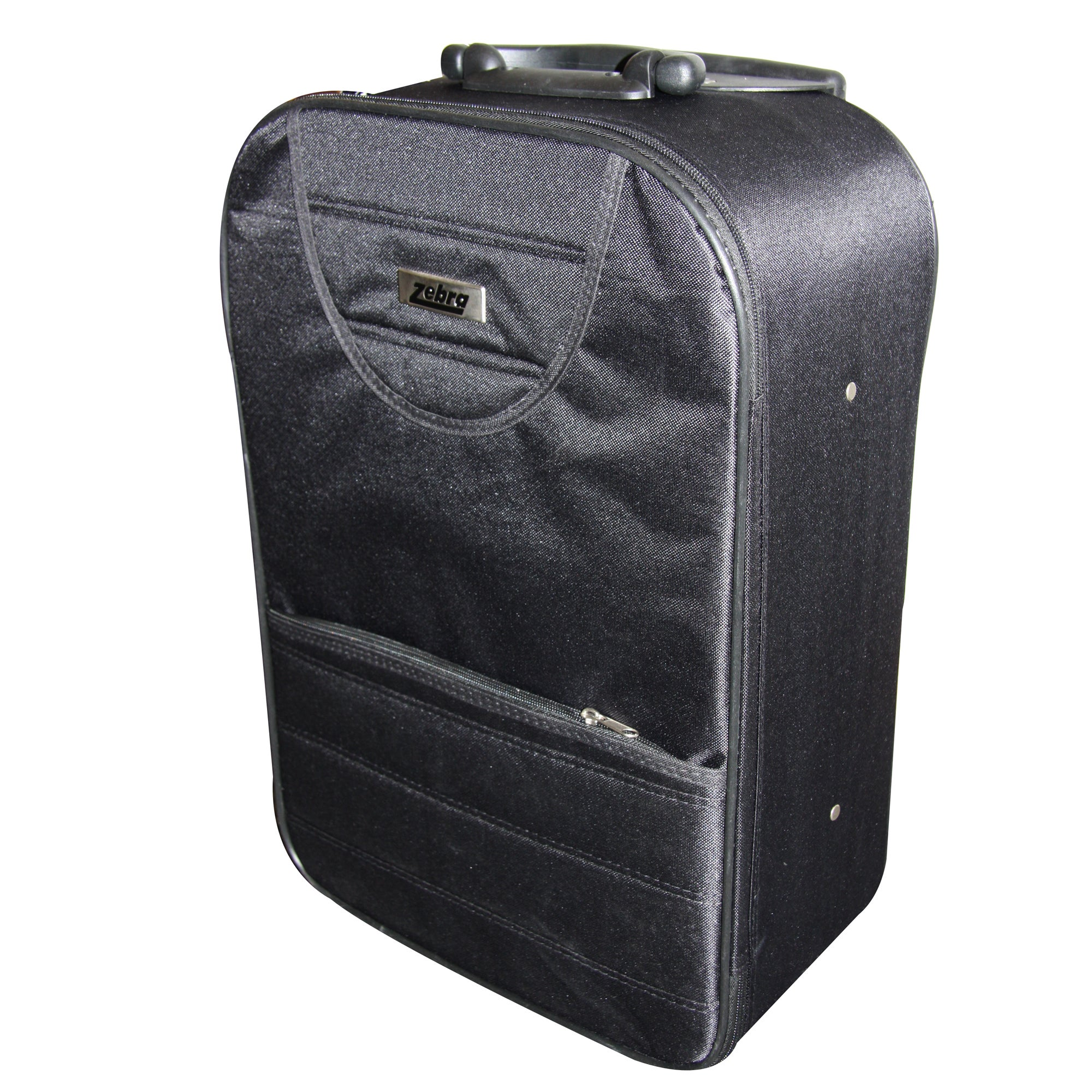 Black Zebra 20 Inch Weekend Suitcase