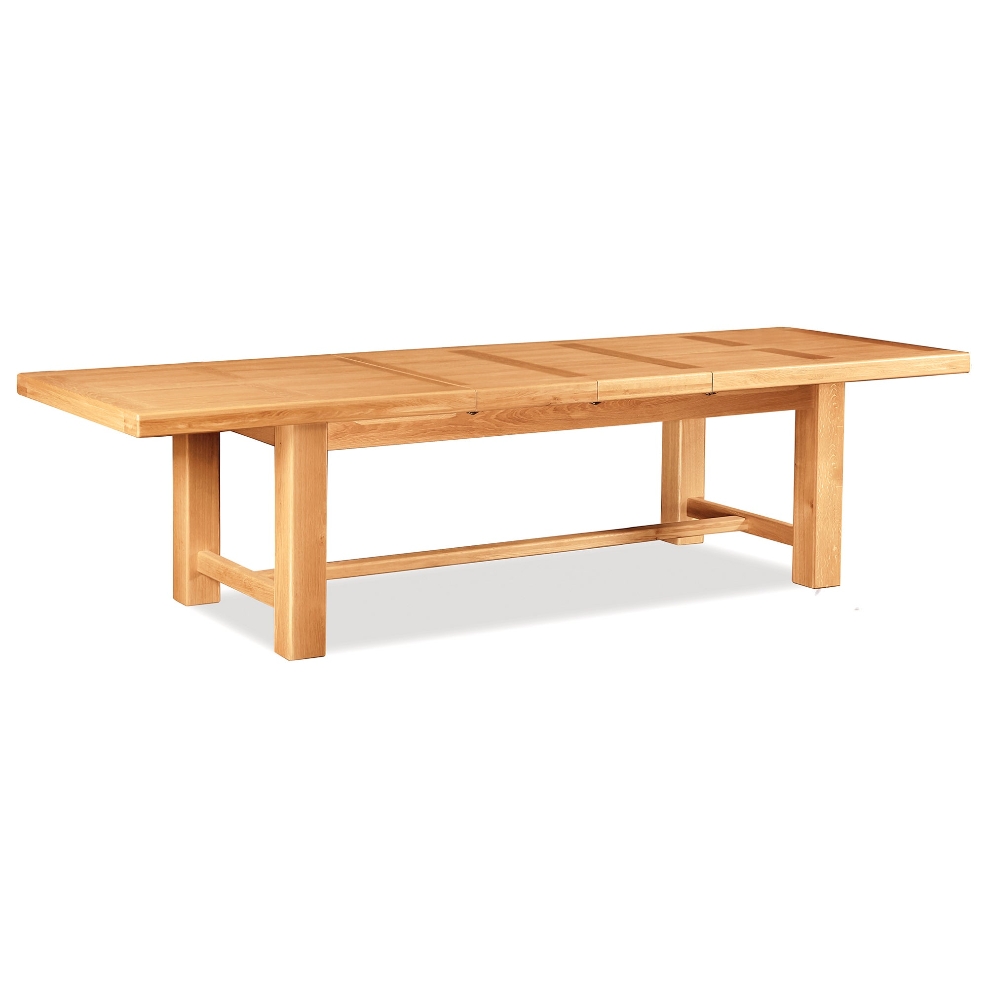Shawbury Oak Large Extendable Dining Table