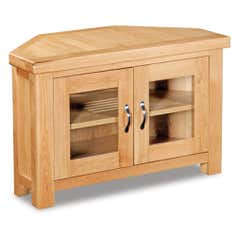 Shawbury Oak Corner TV Unit