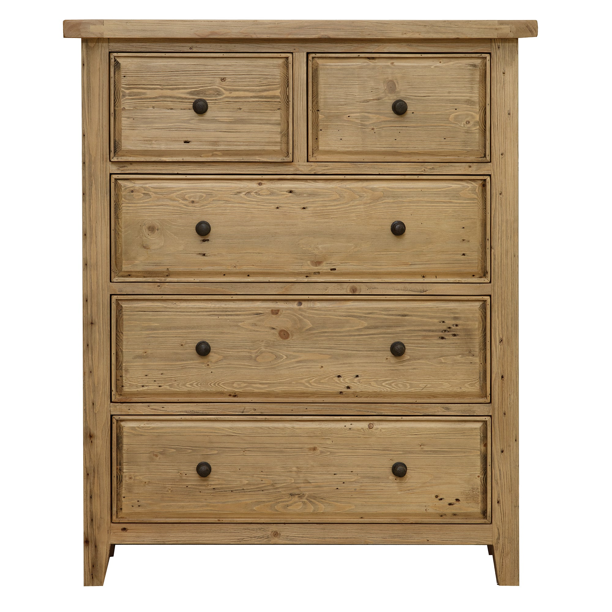 Naples Pine 5 Drawer Chest