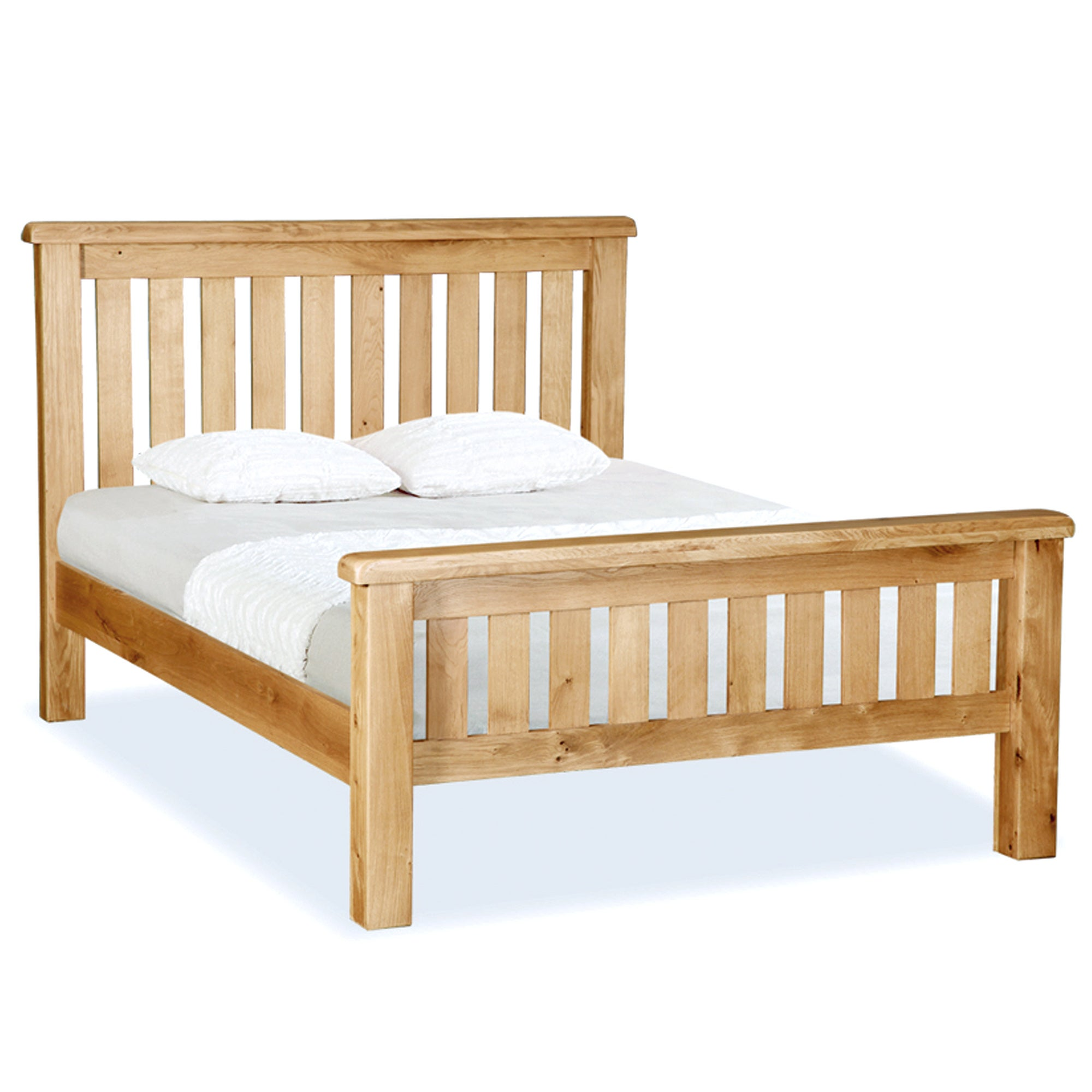 Chichester Oak Slatted Bedstead