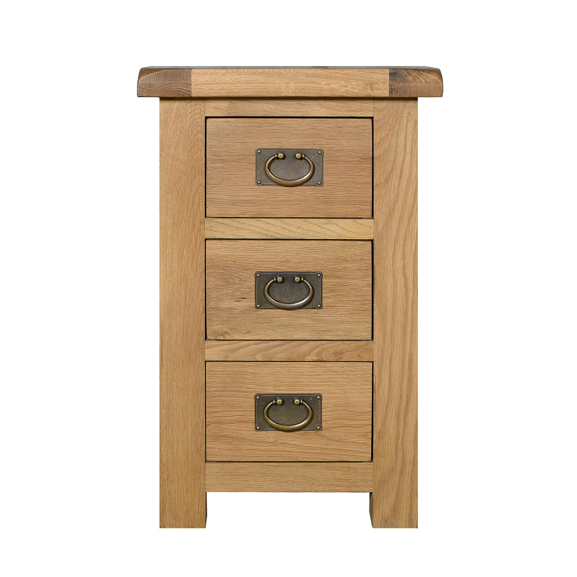 Aylesbury Oak Bedside Cabinet