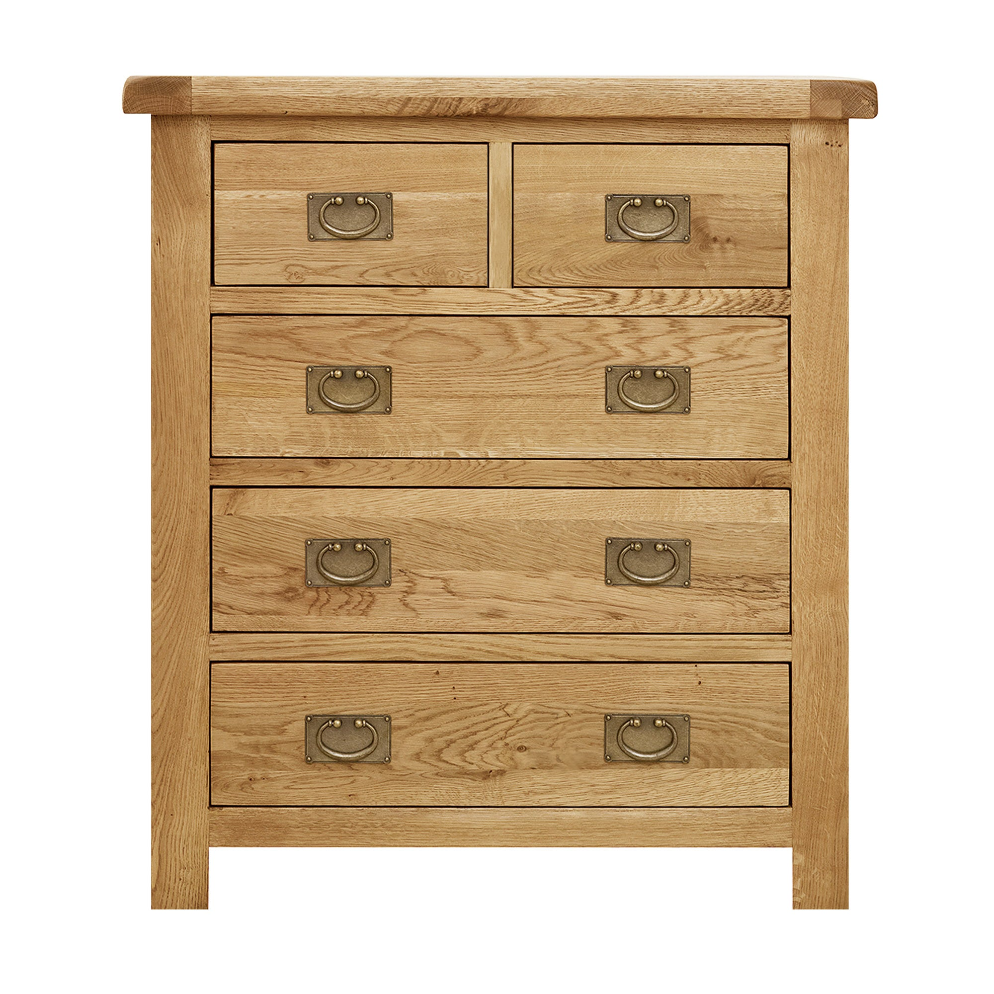 Chichester Oak 5 Drawer Chest