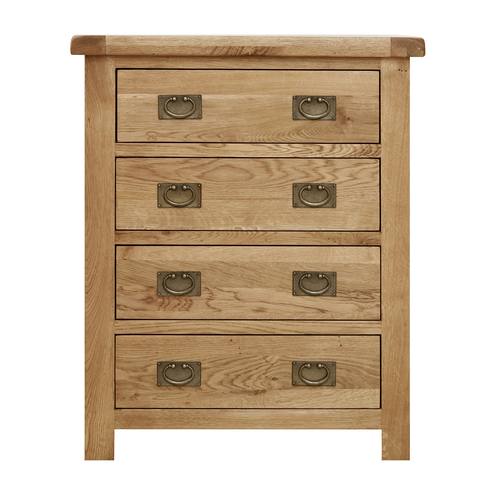 Aylesbury Oak 4 Drawer Chest