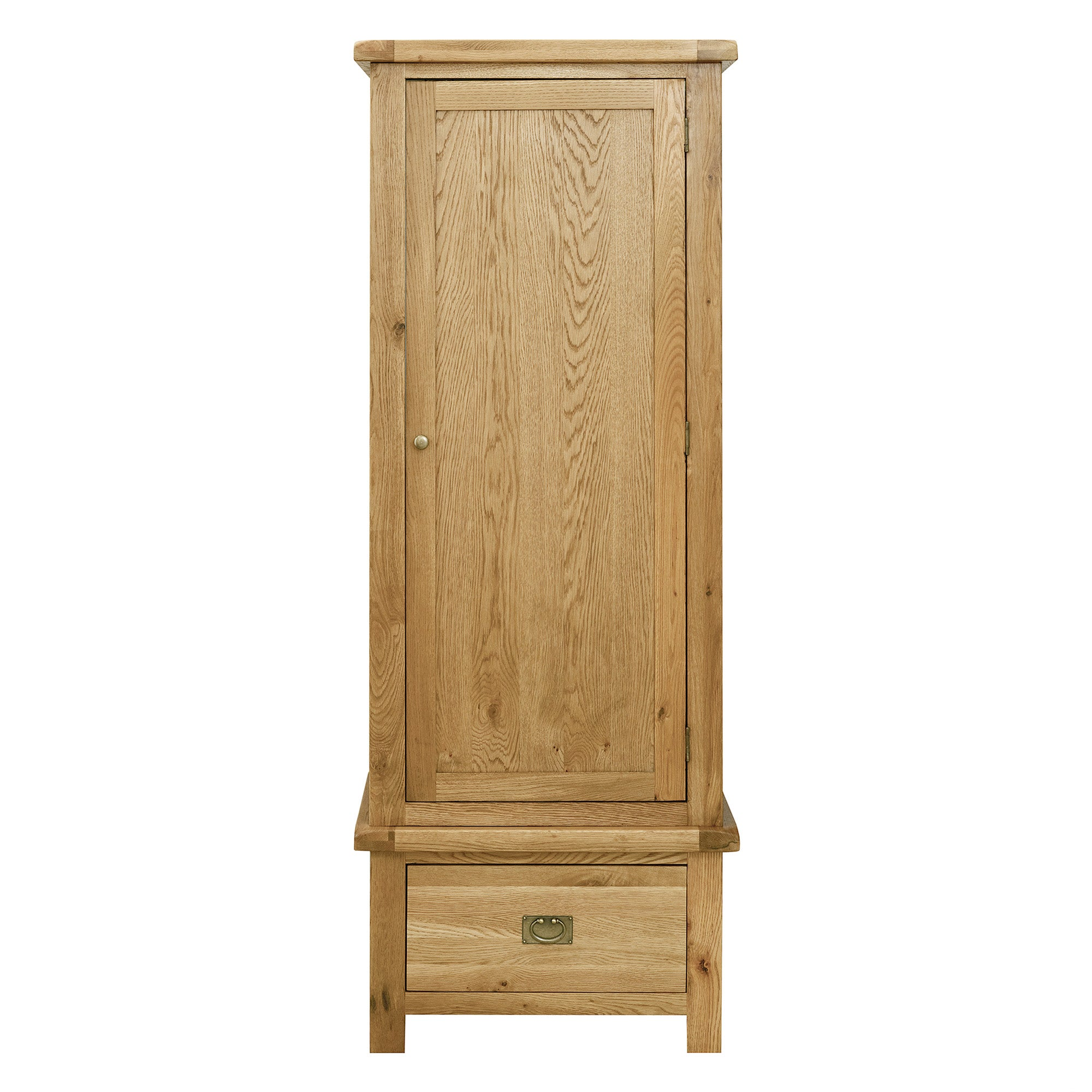 Chichester Oak Single Wardrobe