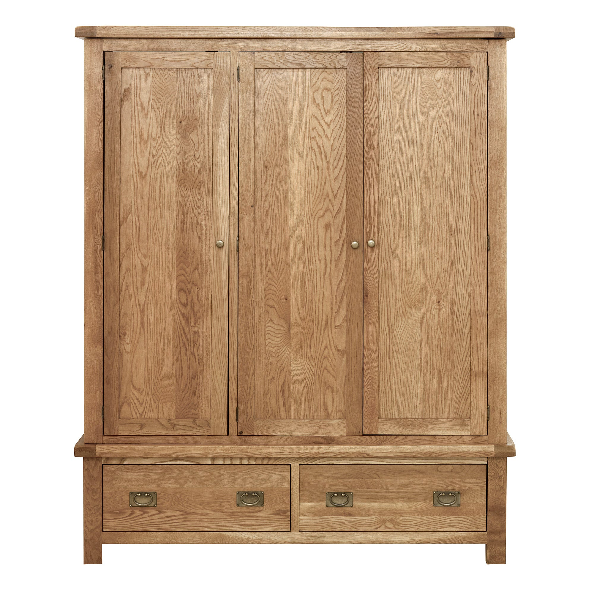 Chichester Oak Triple Wardrobe