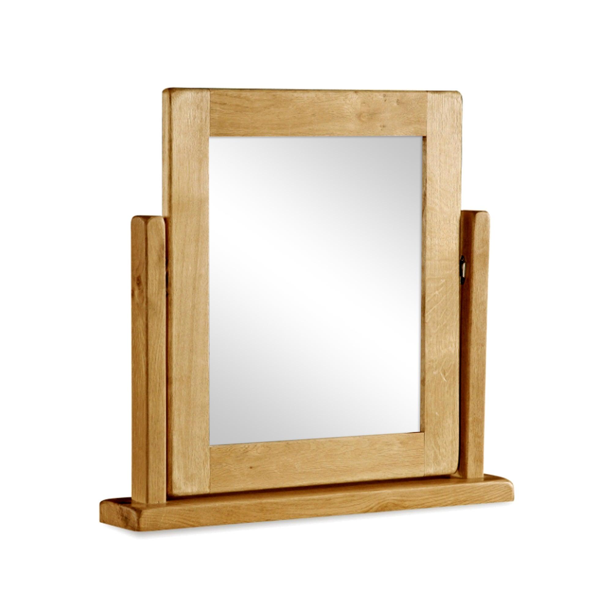 Aylesbury Oak Vanity Mirror