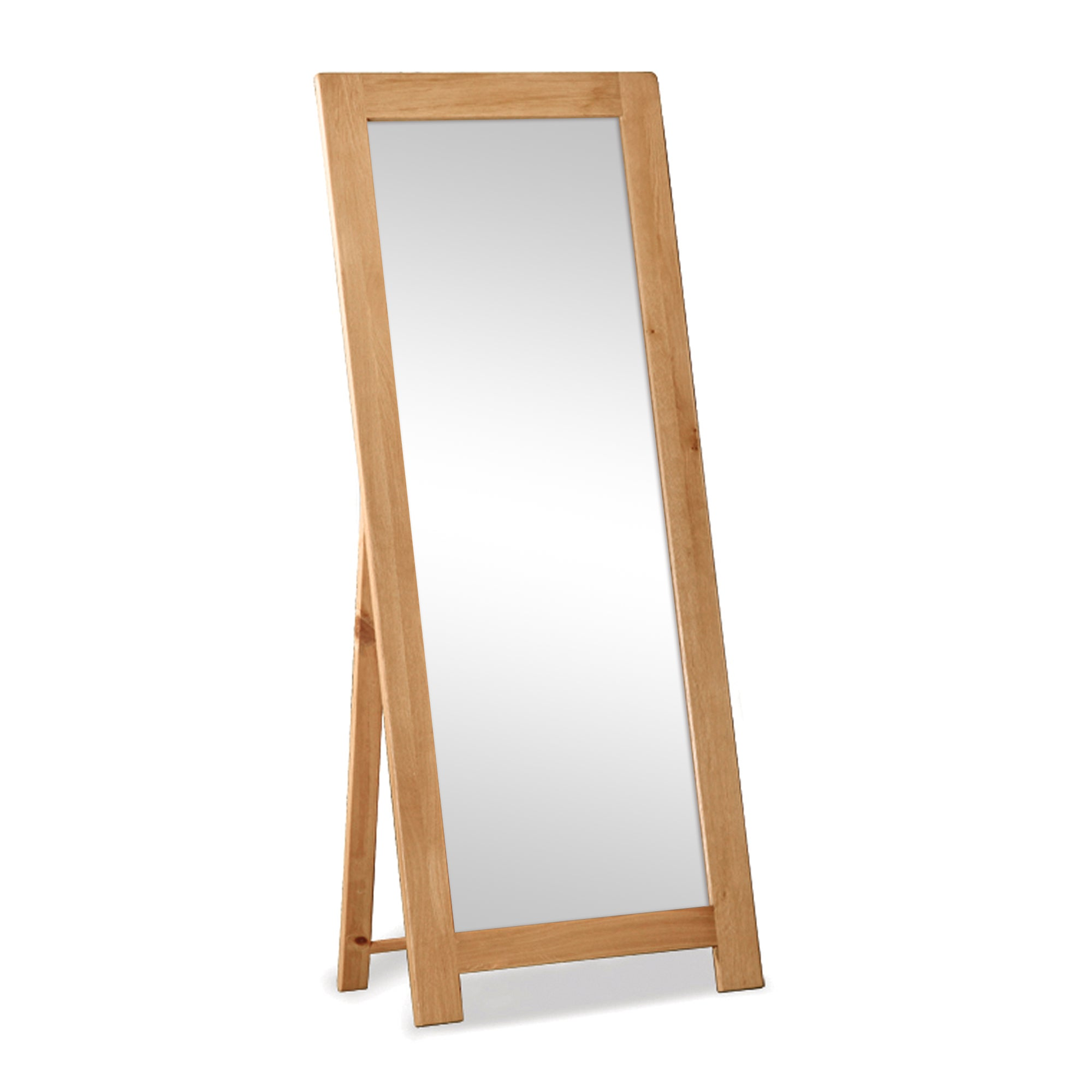 Chichester Oak Cheval Mirror